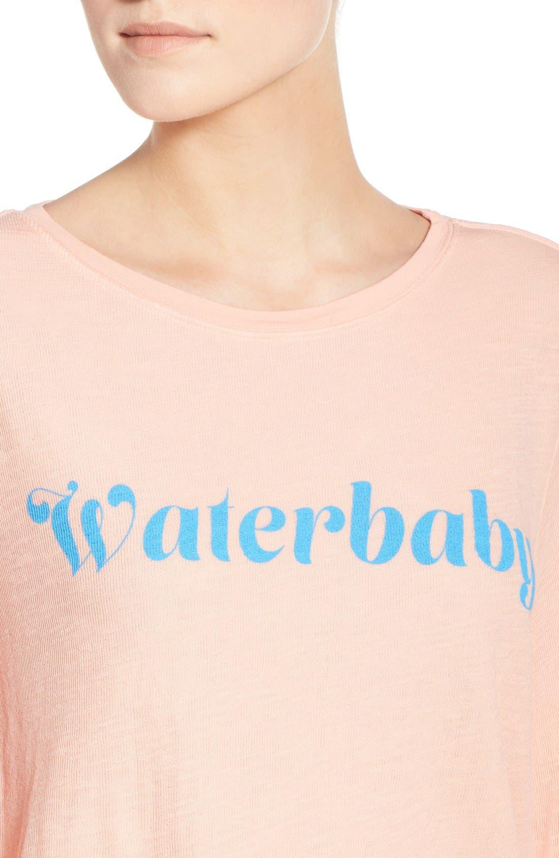 Alternate Image 4  - Wildfox 'Baggy Beach Jumper - Waterbaby' Pullover