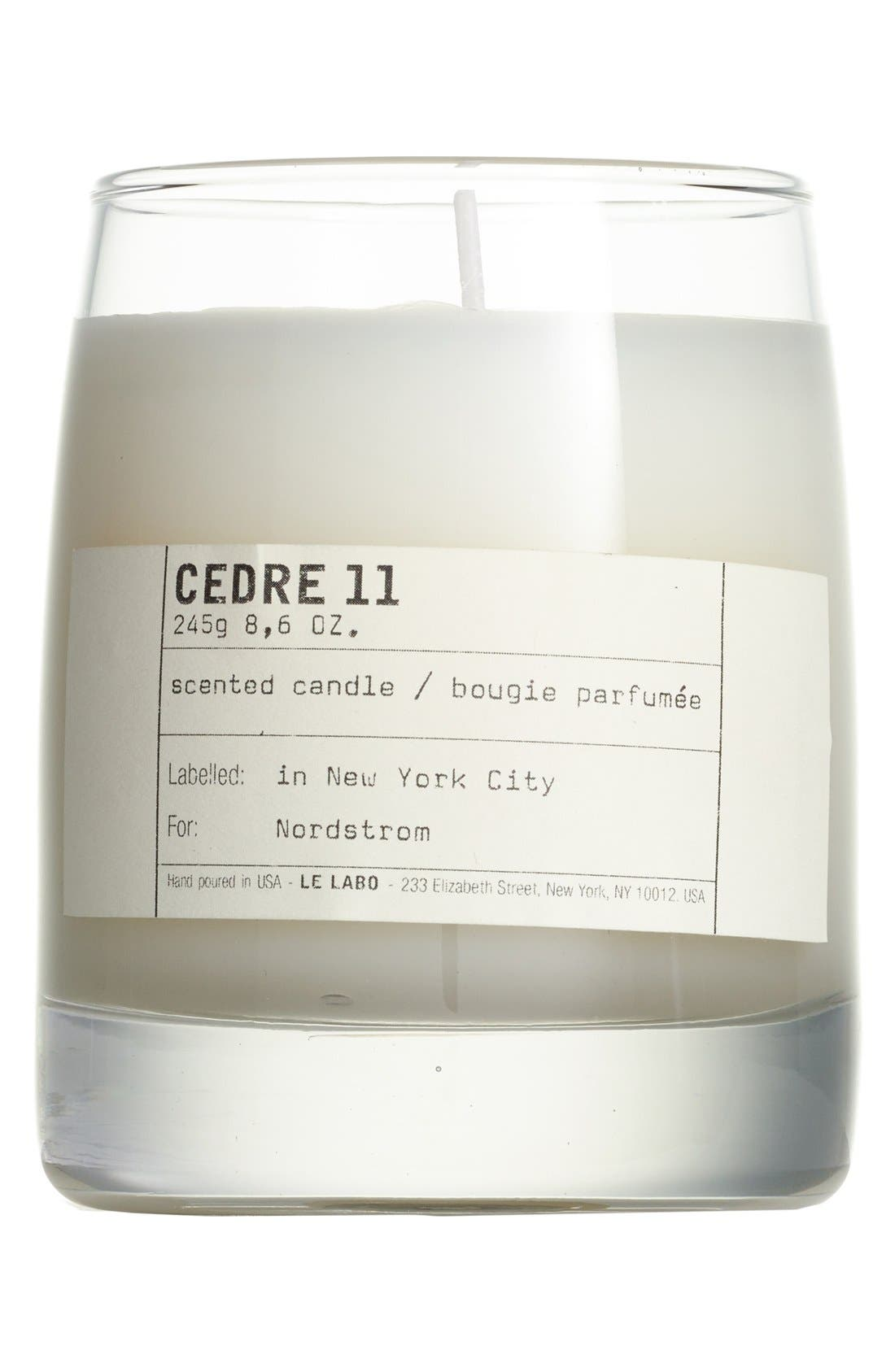 Alternate Image 1 Selected - Le Labo 'Cedre 11' Classic Candle