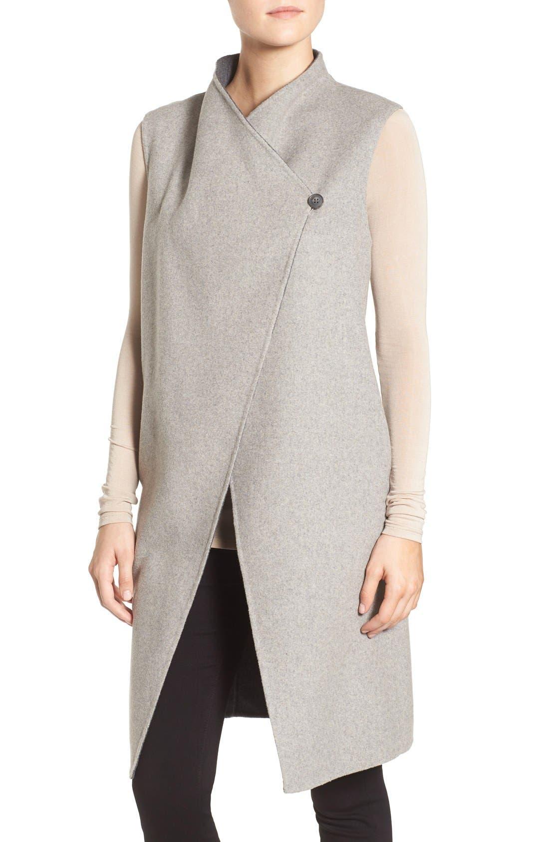 Alternate Image 3  - Soia & Kyo Double-Face Wool Blend Vest