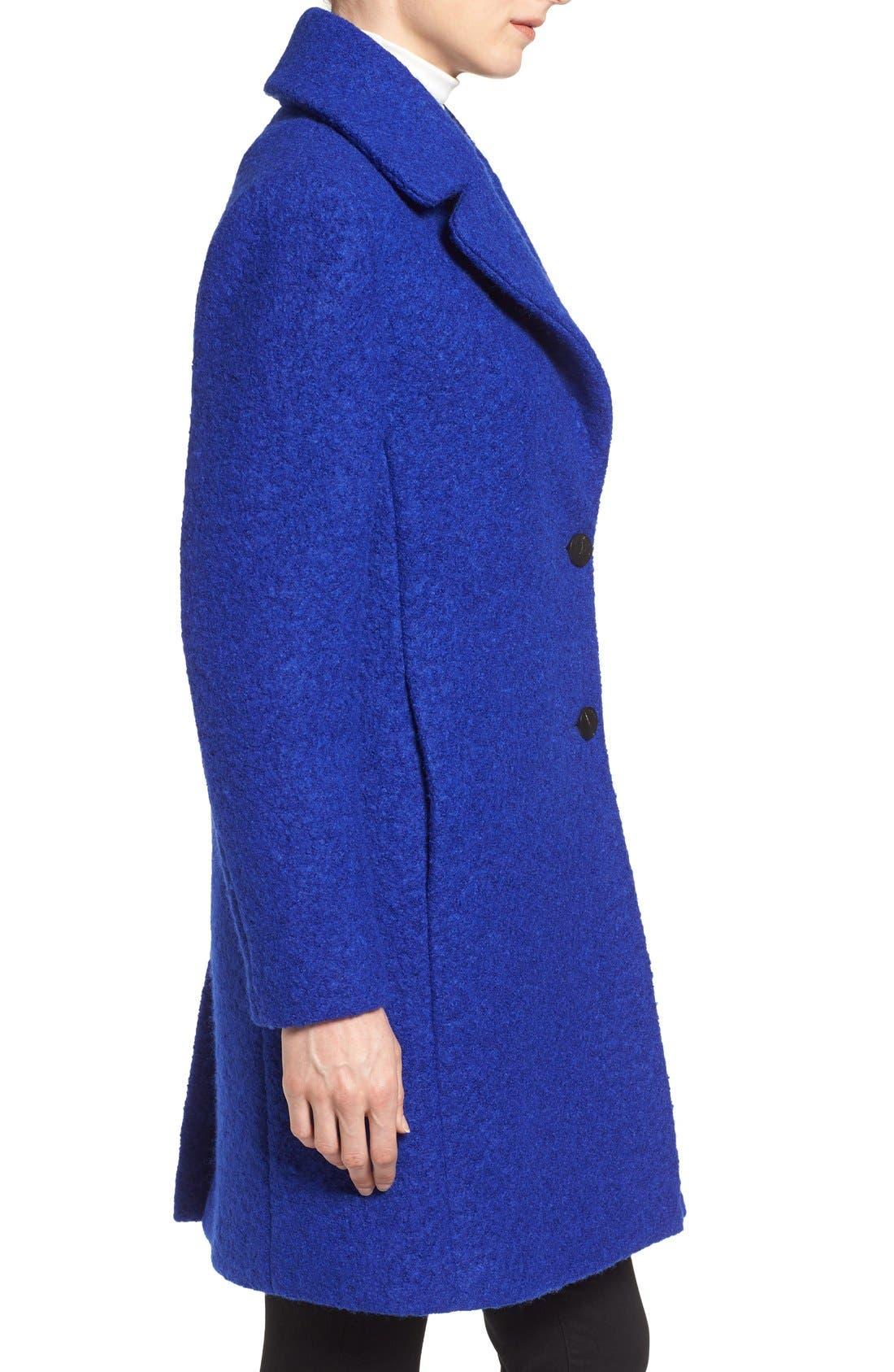 Alternate Image 3  - Tahari 'Tessa' Boiled Wool Blend Coat