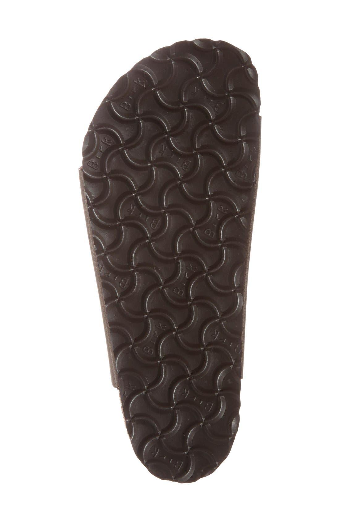 Alternate Image 4  - Birkenstock 'Florida Birkibuc' Soft Footbed Sandal (Women)