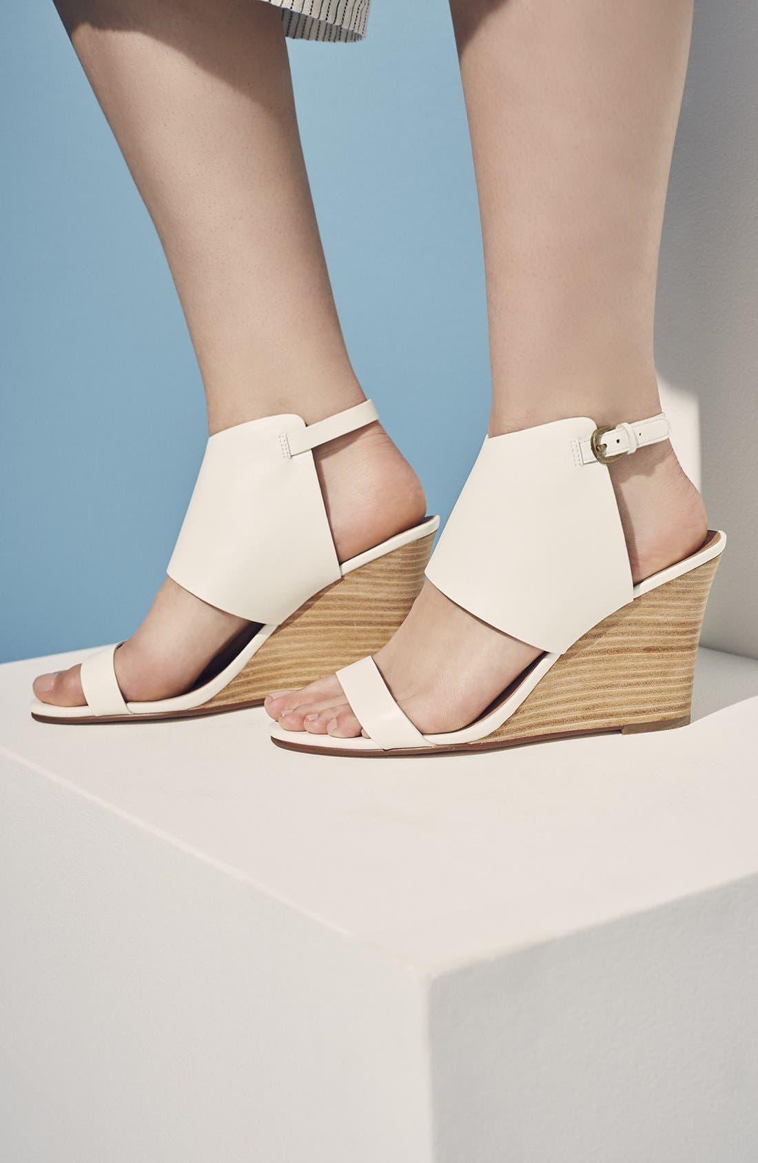 Alternate Image 14  - Halogen® 'Clarette' Wedge Sandal (Women)