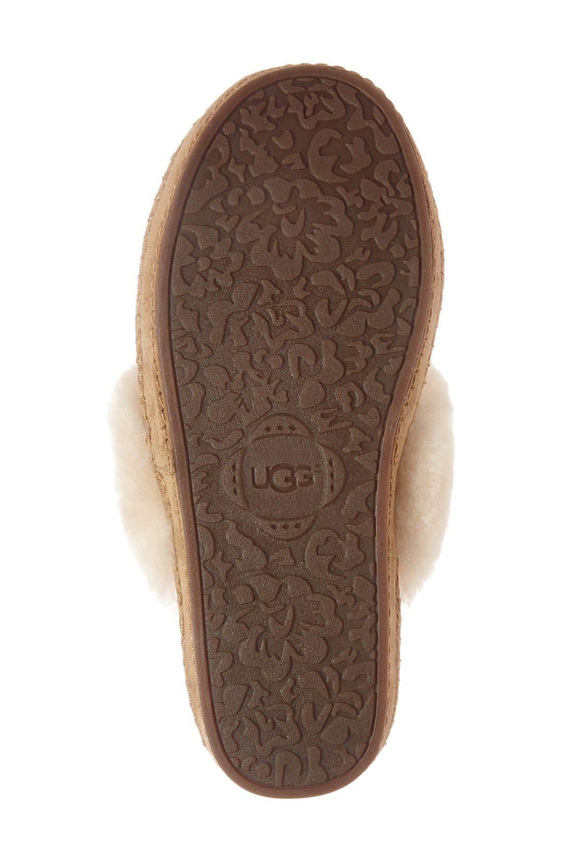 Alternate Image 4  - UGG® Aira Knit Scuff Slipper (Women)