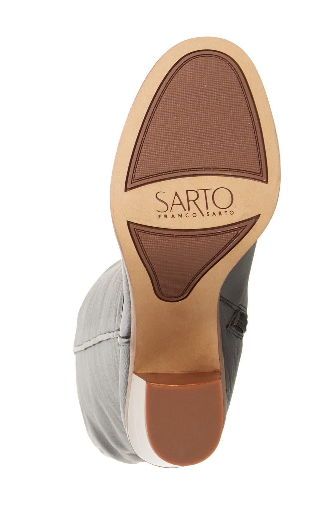 Alternate Image 4  - SARTO by Franco Sarto 'Faye' Over the Knee Boot (Women)