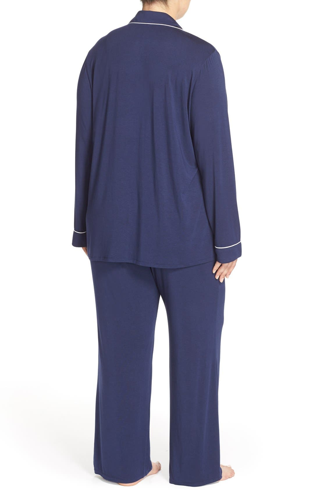 'Moonlight' Pajamas,                             Alternate thumbnail 2, color,                             Navy Peacoat