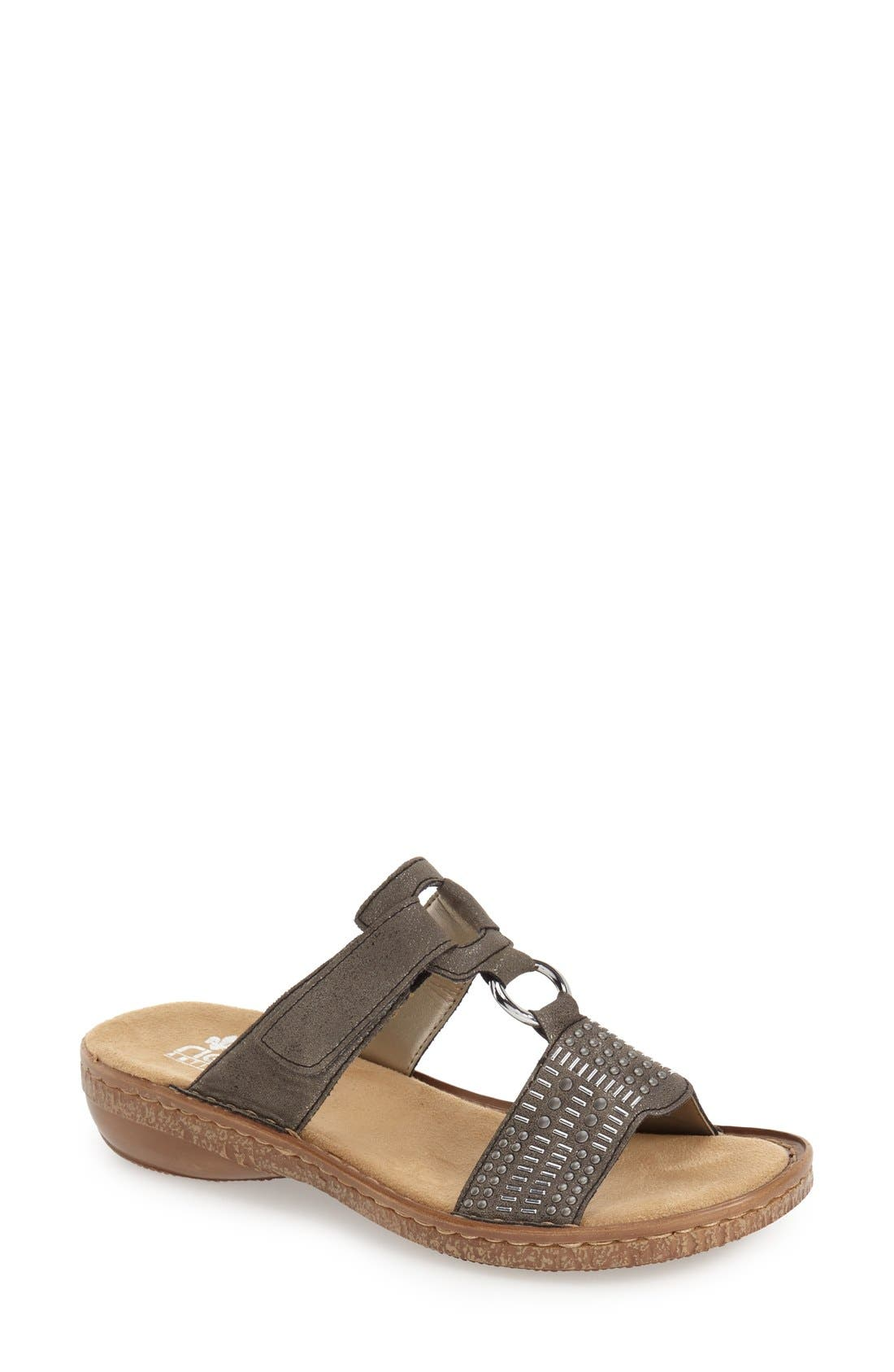 Alternate Image 1 Selected - Rieker Antistress 'Regina' Slide Sandal (Women)