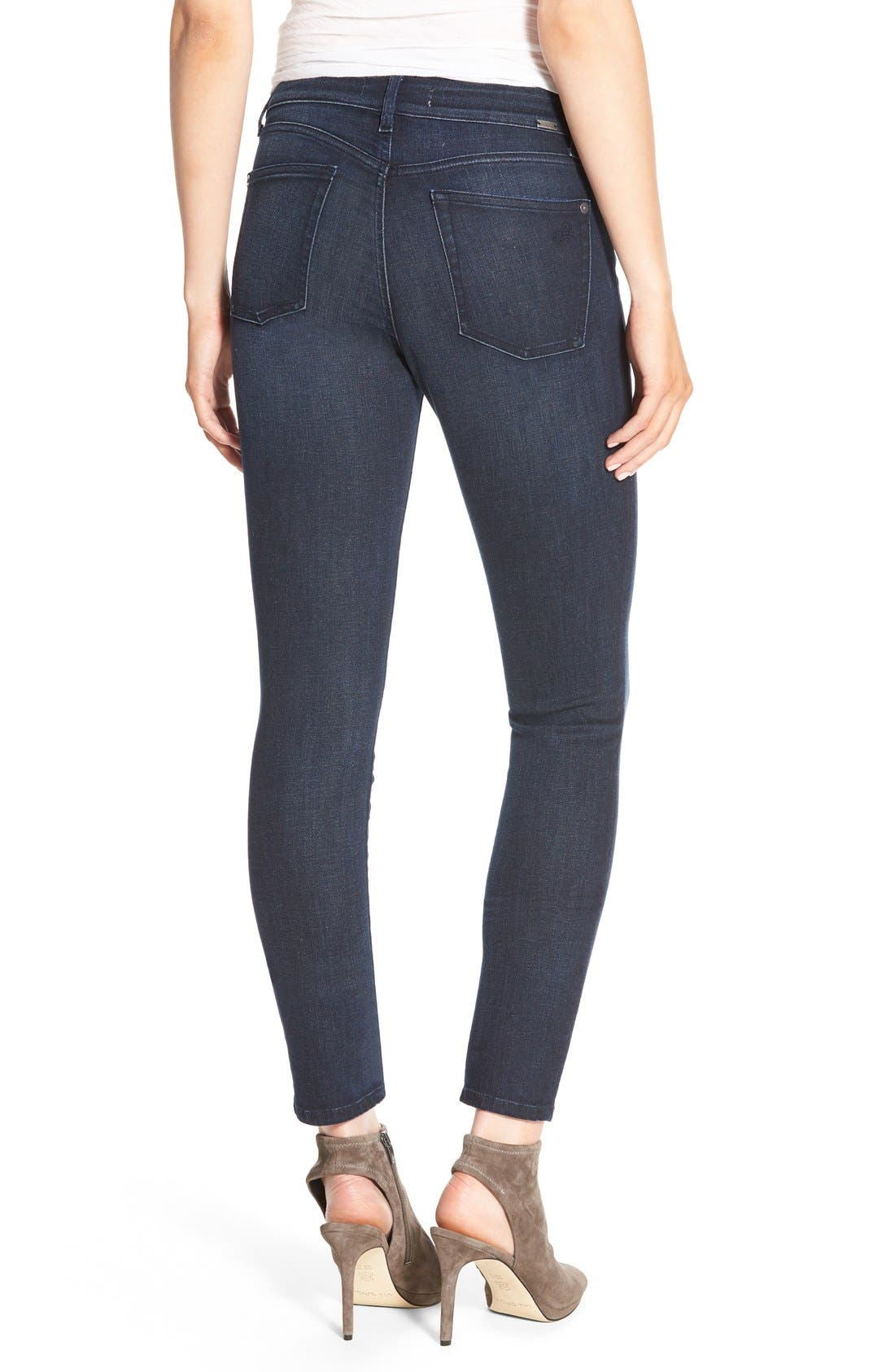 Alternate Image 2  - DL1961 Margaux Instasculpt Ankle Skinny Jeans (Canyon)