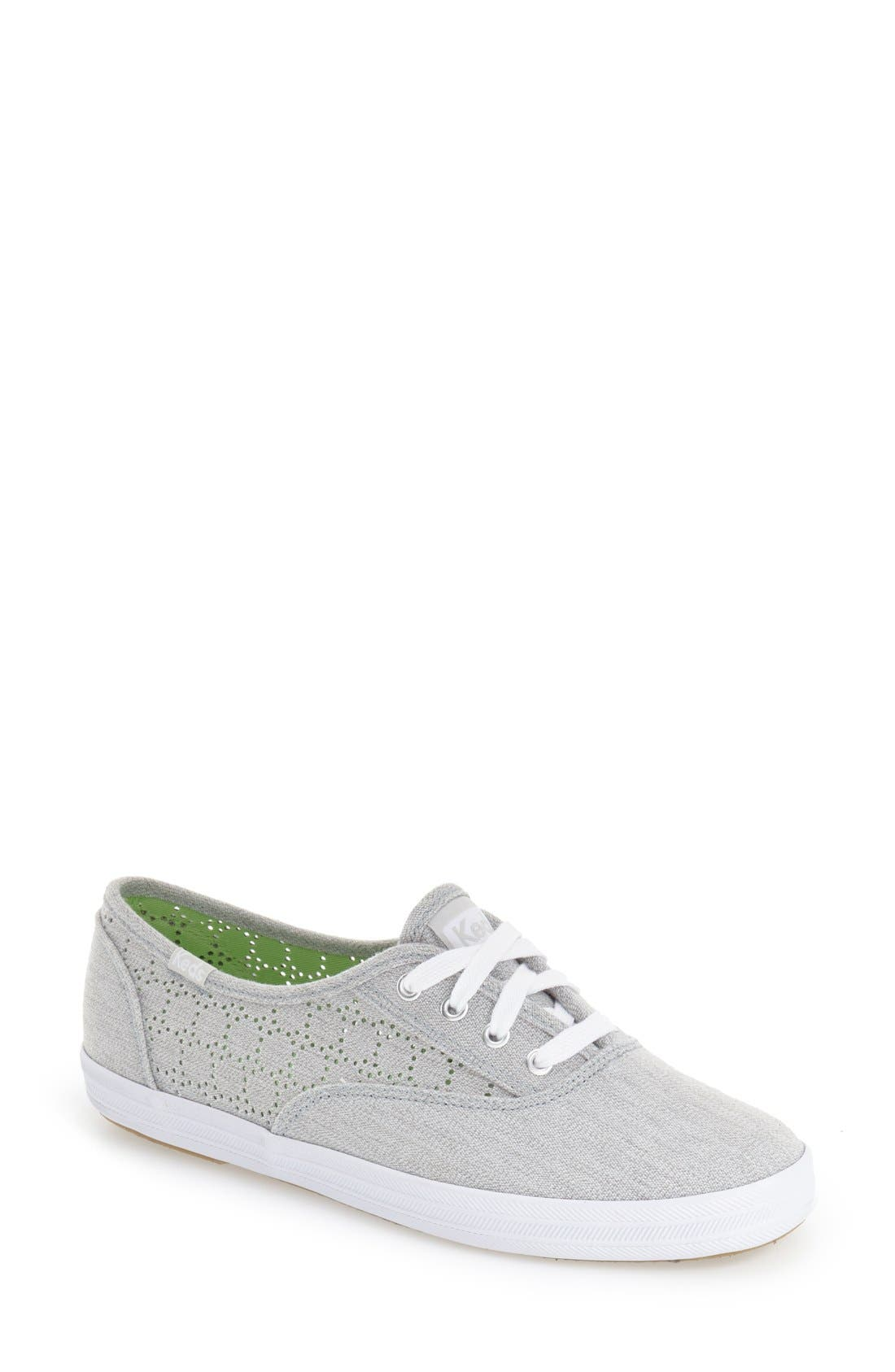 Alternate Image 1 Selected - Keds® 'Champion' Perforated Sneaker (Women)