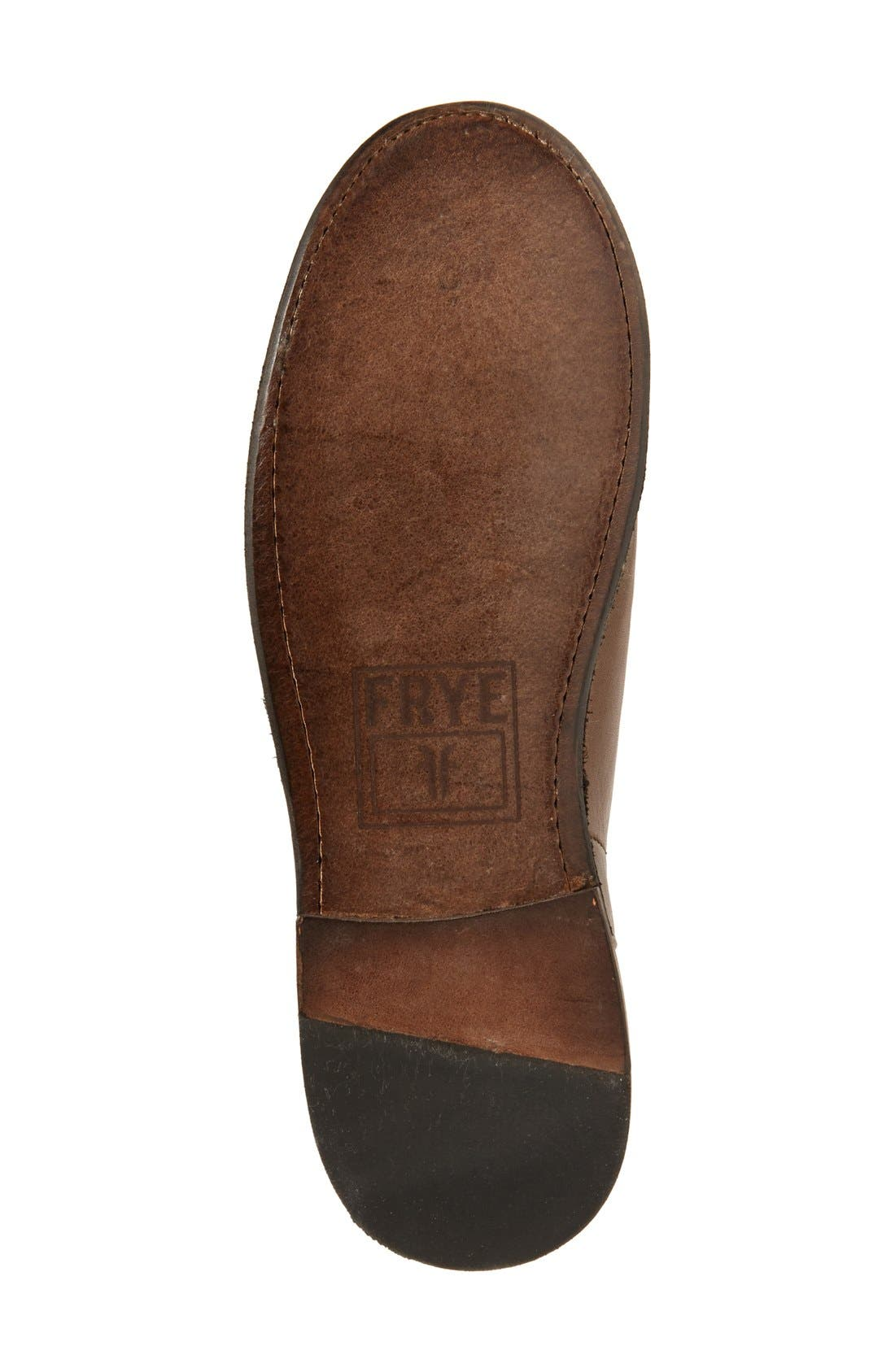 'Paige' Tall Riding Boot,                             Alternate thumbnail 4, color,                             Slate