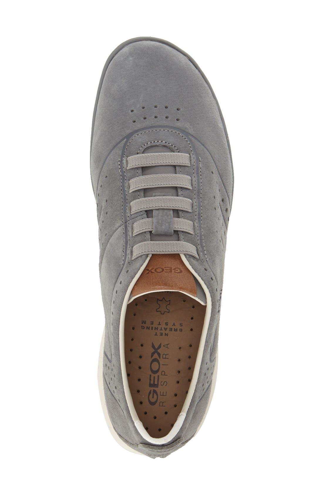 'Nebula 22' Slip-On Sneaker,                             Alternate thumbnail 3, color,                             Lake Nubuck Leather