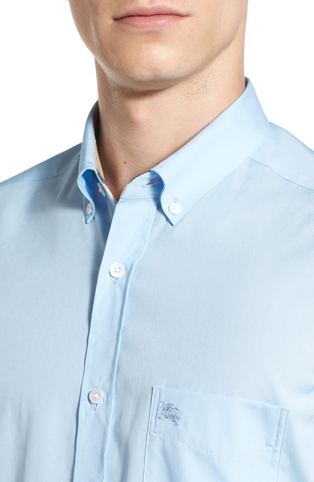 Cambridge Aboyd Sport Shirt,                             Alternate thumbnail 2, color,                             Pale Blue