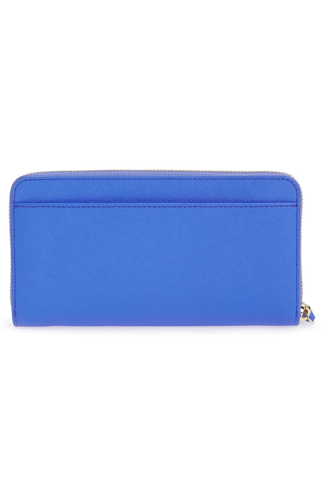 Alternate Image 4  - kate spade new york 'seahorse appliqué - lacey' leather wallet