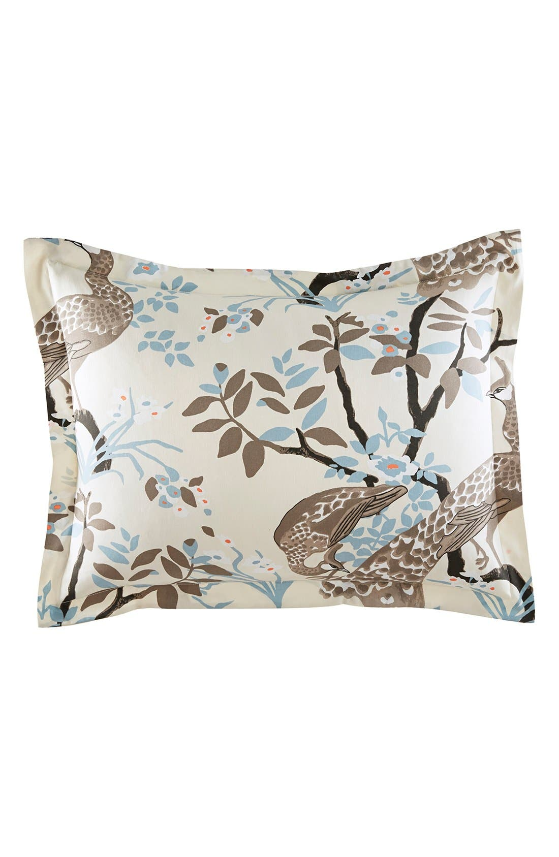 Alternate Image 1 Selected - DwellStudio 'Peacock' Shams (Set of 2)
