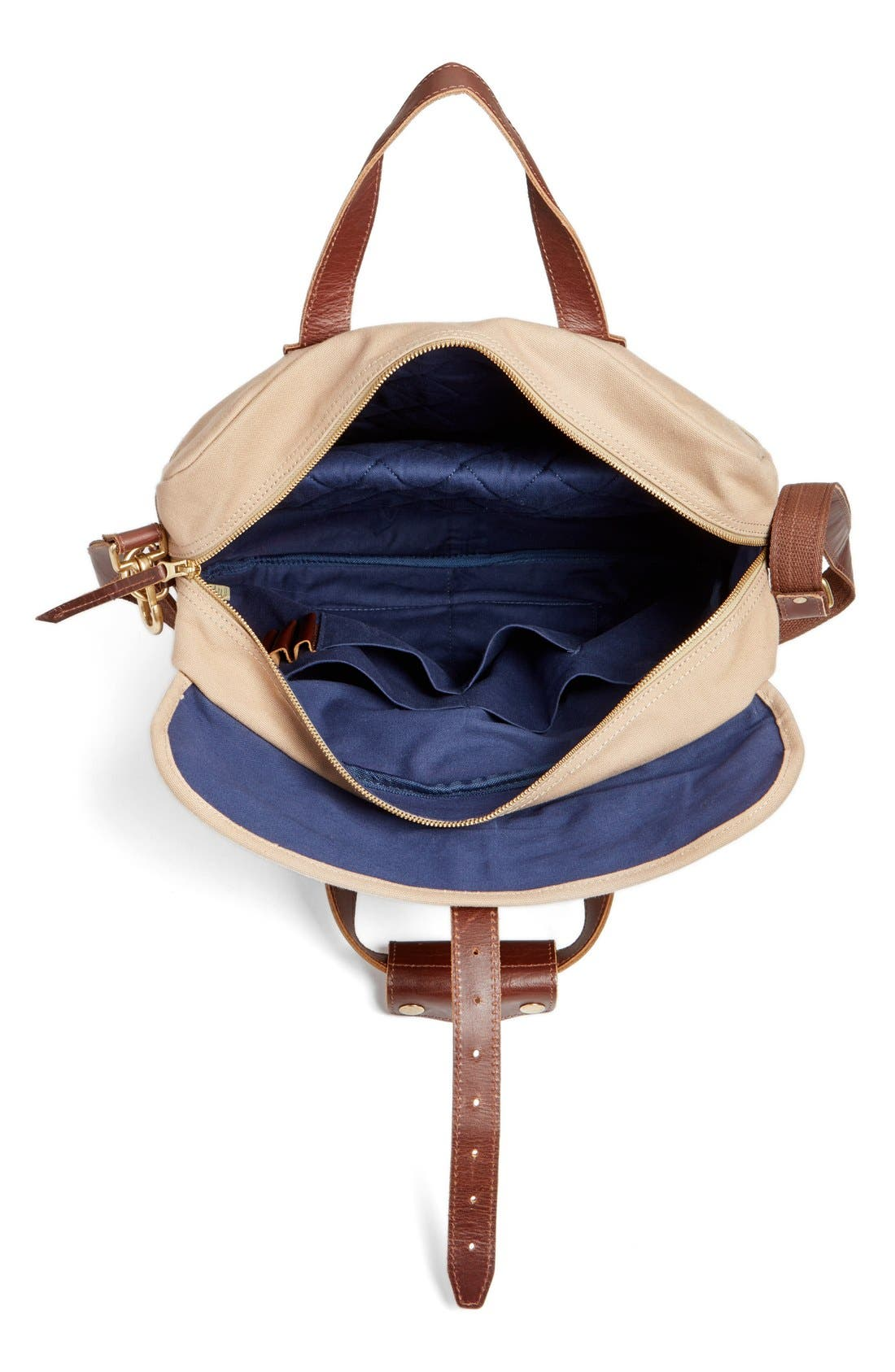 'Lakeland' Laptop Bag,                             Alternate thumbnail 4, color,                             Tan