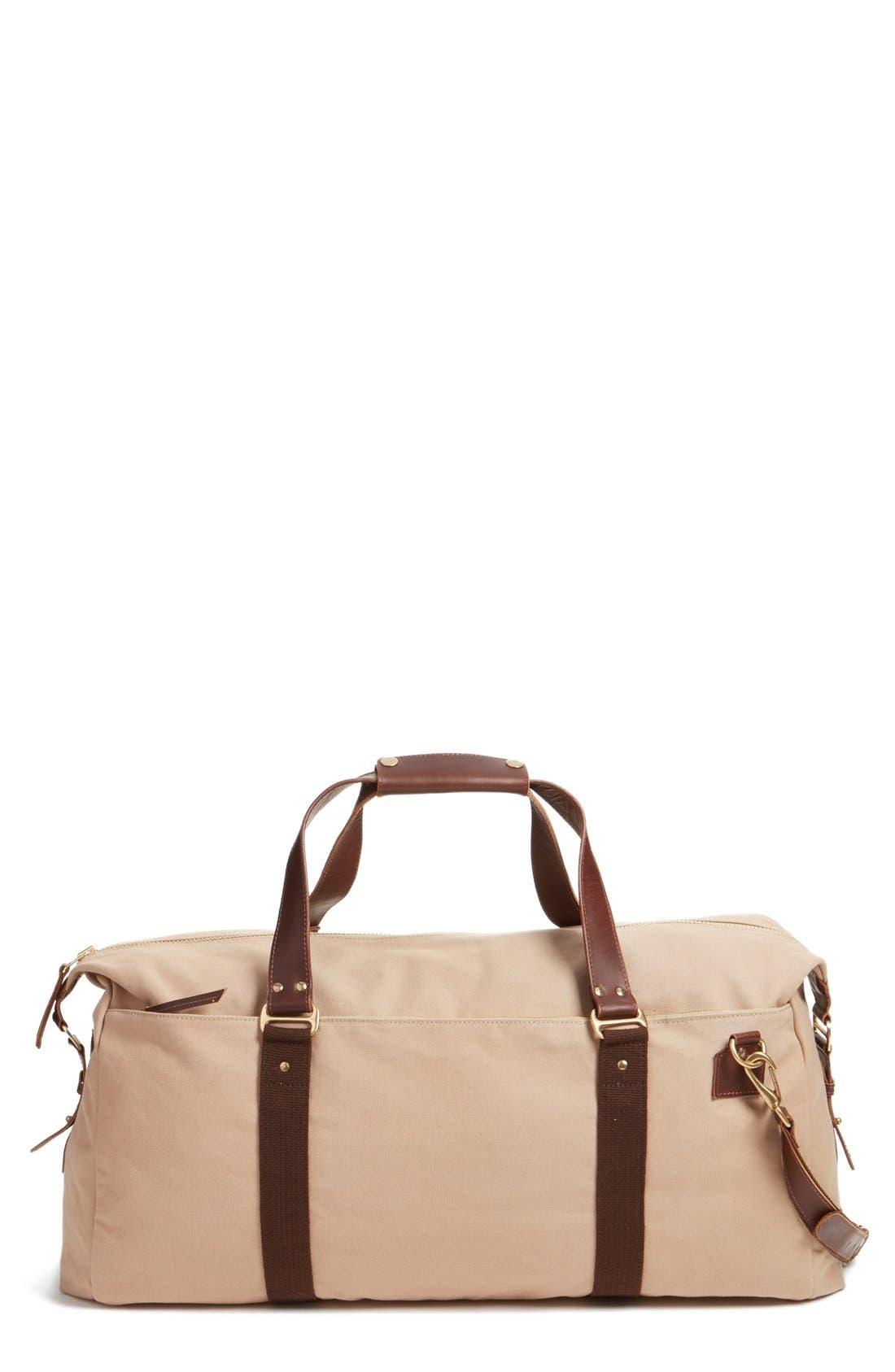 'Mt. Drew' Duffel Bag,                         Main,                         color, Tan