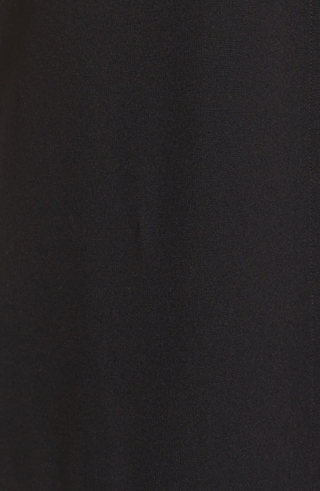 Alternate Image 5  - Eileen Fisher Bateau Neck Drop Waist Shift Dress (Regular & Petite)