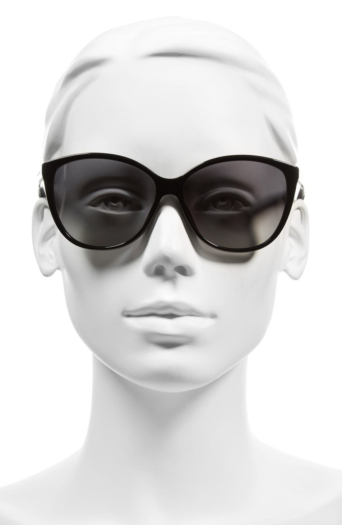 Alternate Image 2  - MARC JACOBS 58mm Polarized Butterfly Sunglasses