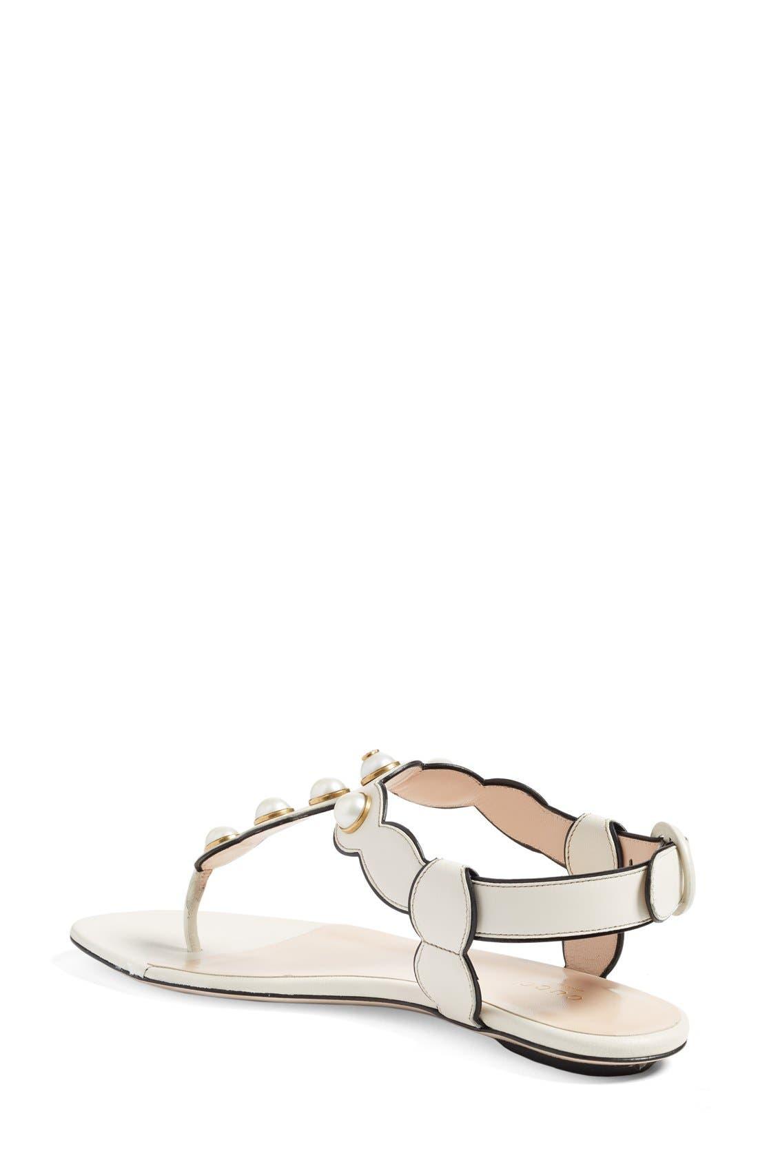 Alternate Image 2  - Gucci 'Willow' Thong Sandal (Women)