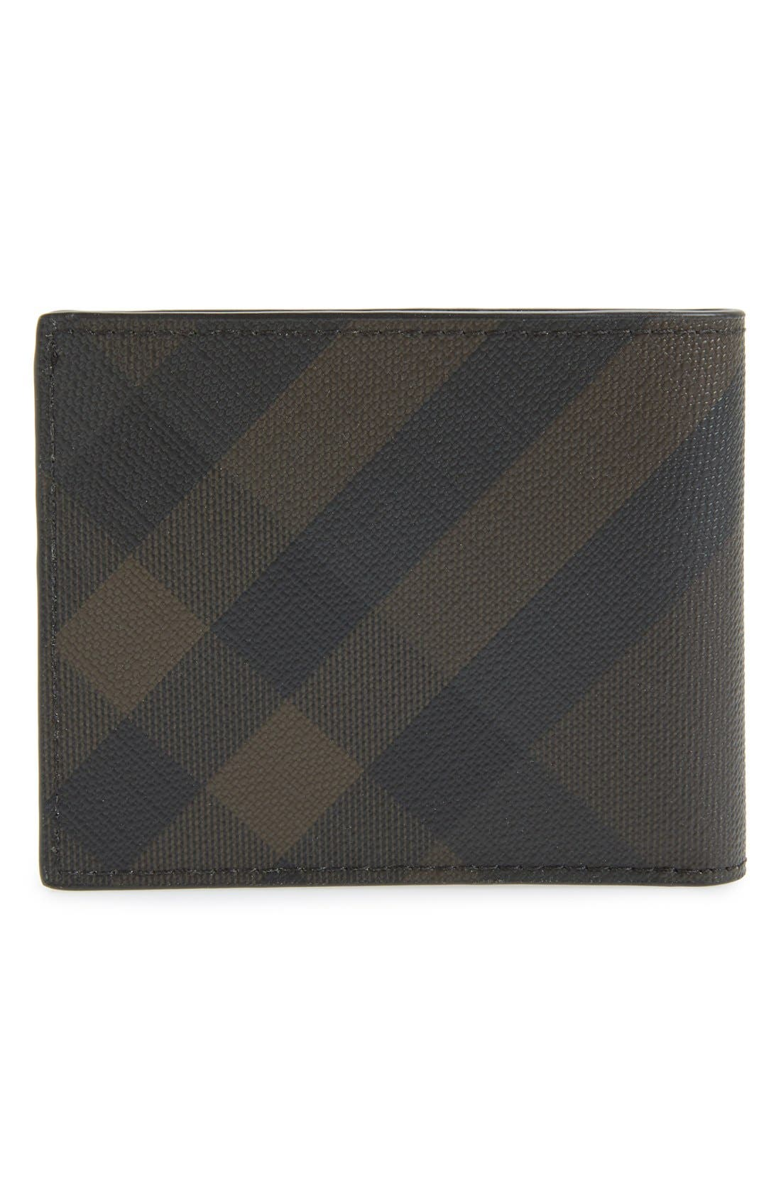 Alternate Image 3  - Burberry Check Wallet