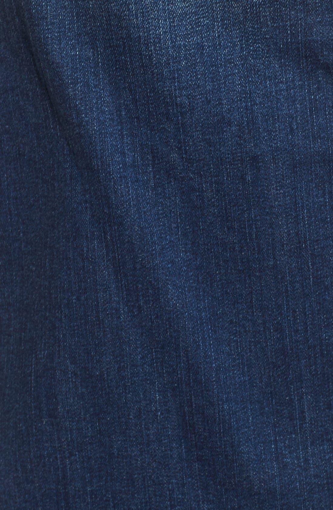 Alternate Image 5  - Hinge Denim Pencil Skirt (Rain Dusk Vintage)
