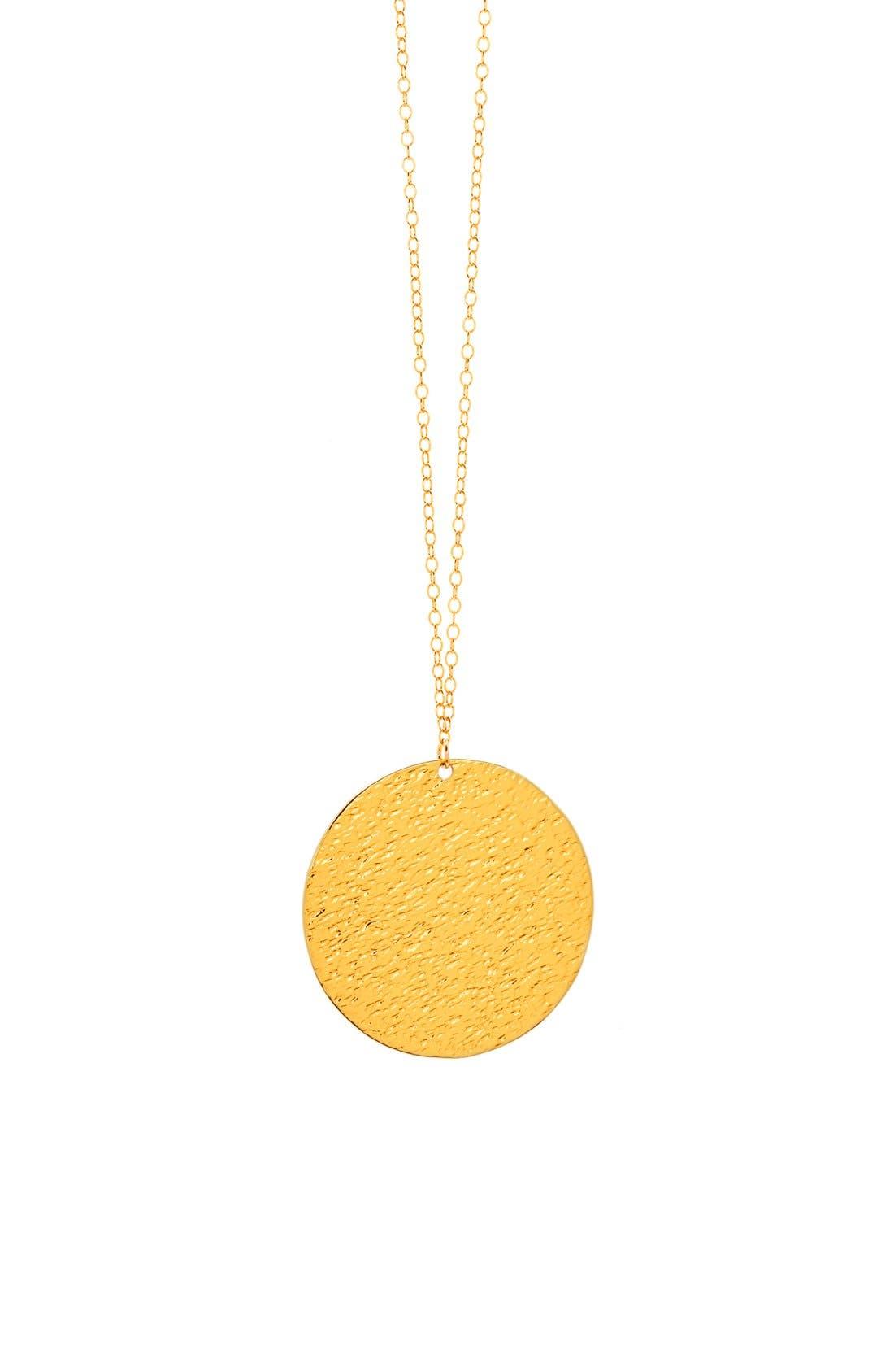 Alternate Image 1 Selected - gorjana 'Faye' Pendant Necklace