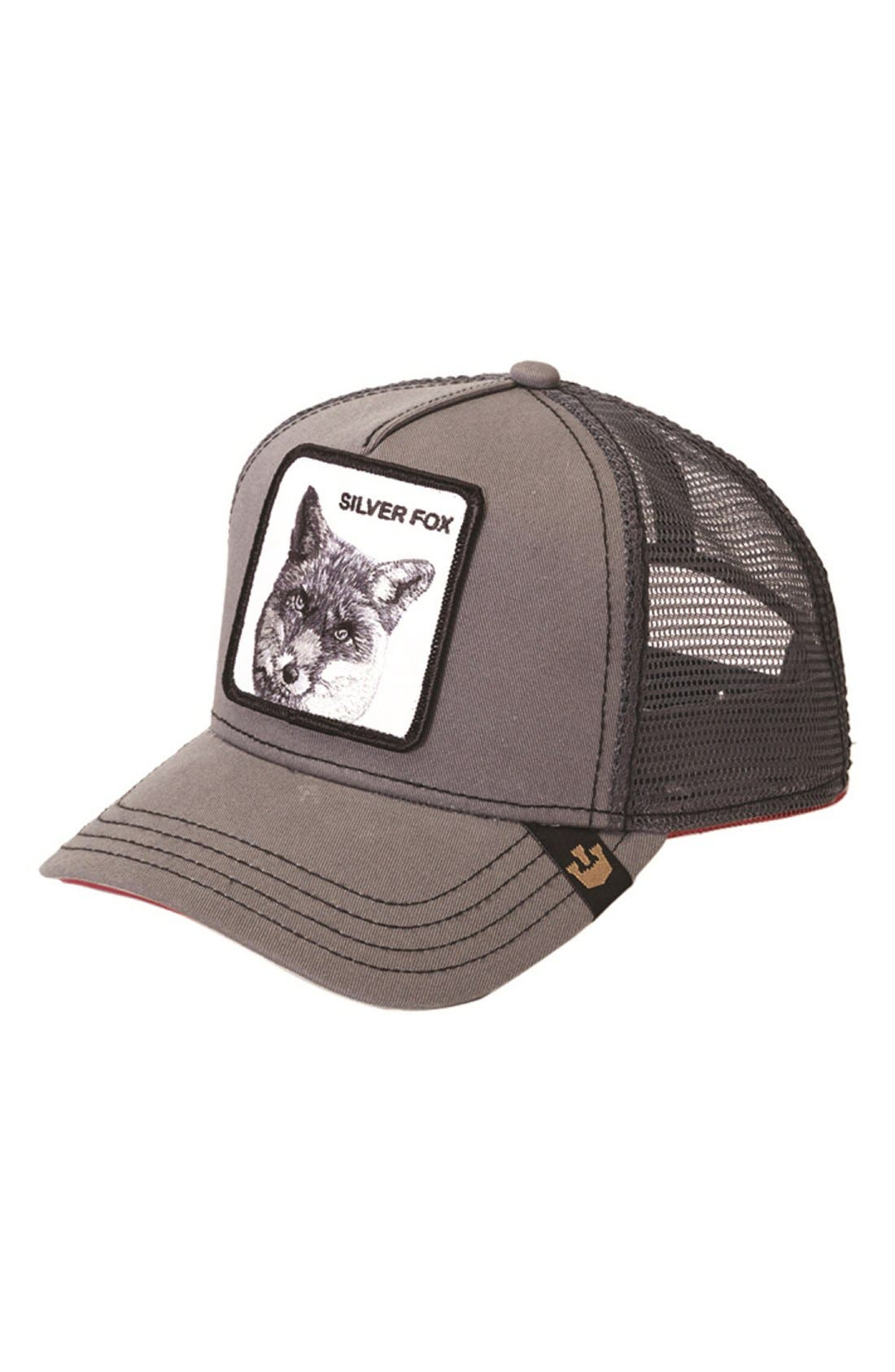 GOORIN BROTHERS Silver Fox Trucker Hat