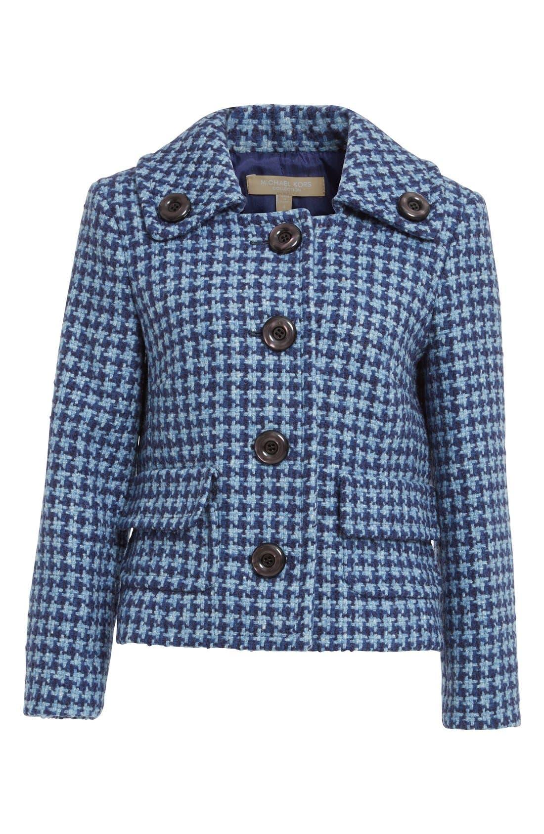 Alternate Image 4  - Michael Kors Houndstooth Tweed Jacket