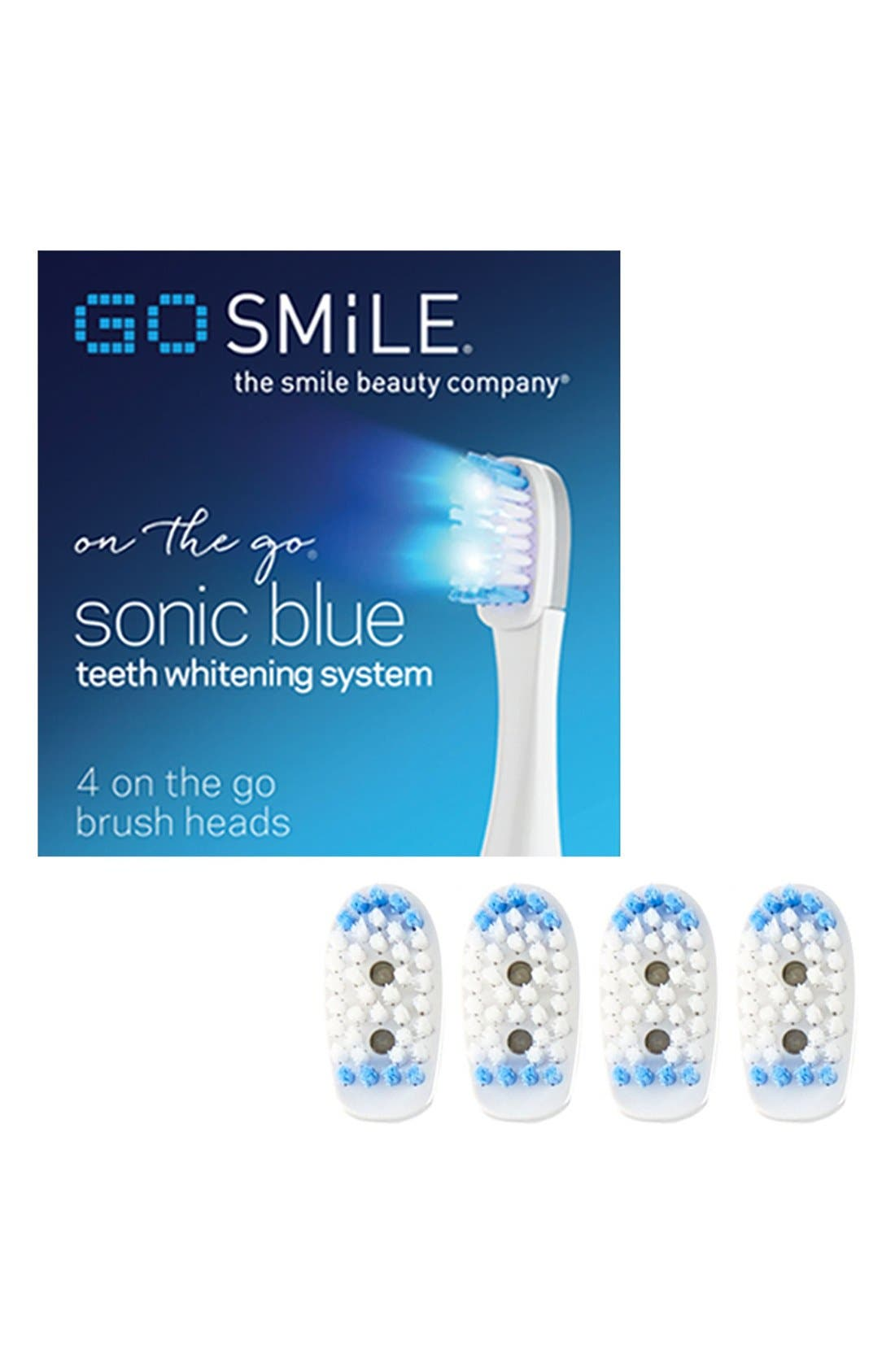 GO SMiLE® Dental Pro On the Go Sonic Blue Replacement Brush Heads