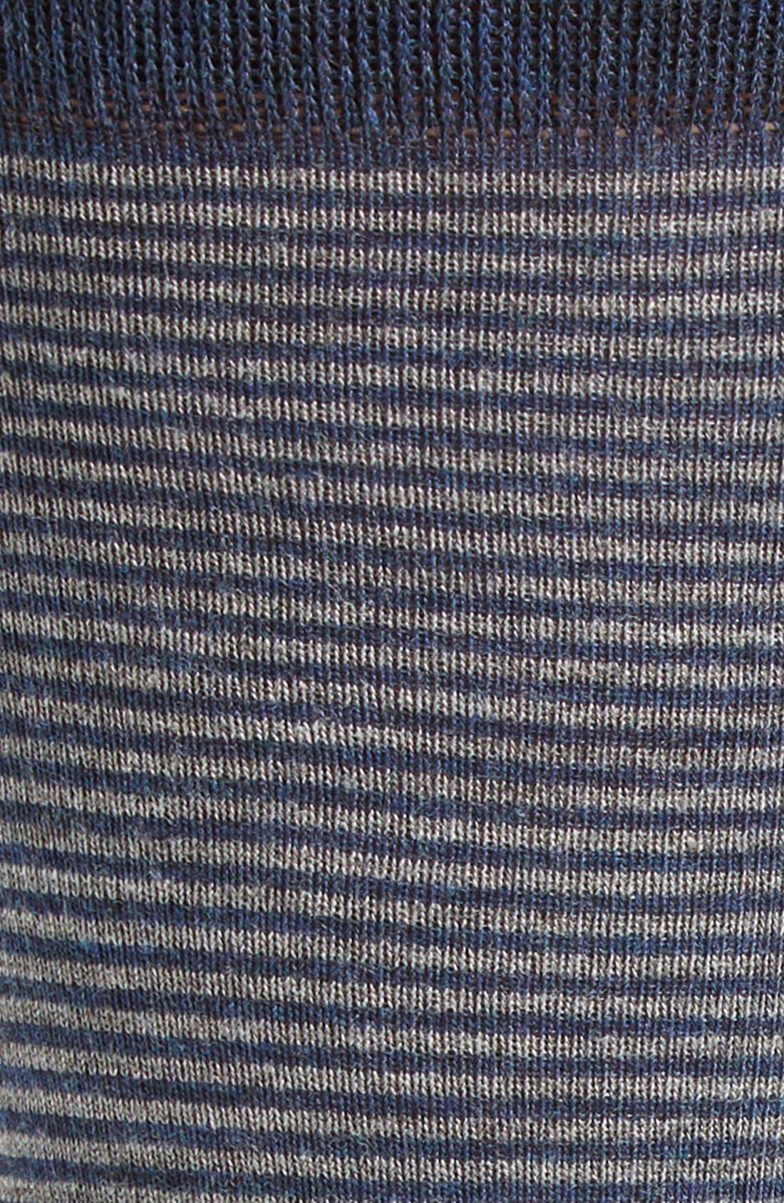 Alternate Image 2  - Nordstrom Men's Shop Feeder Stripe Socks (3 for $30)