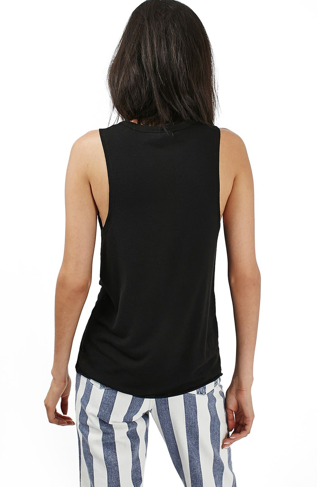 Alternate Image 3  - Topshop 'Barry' Jersey Tank