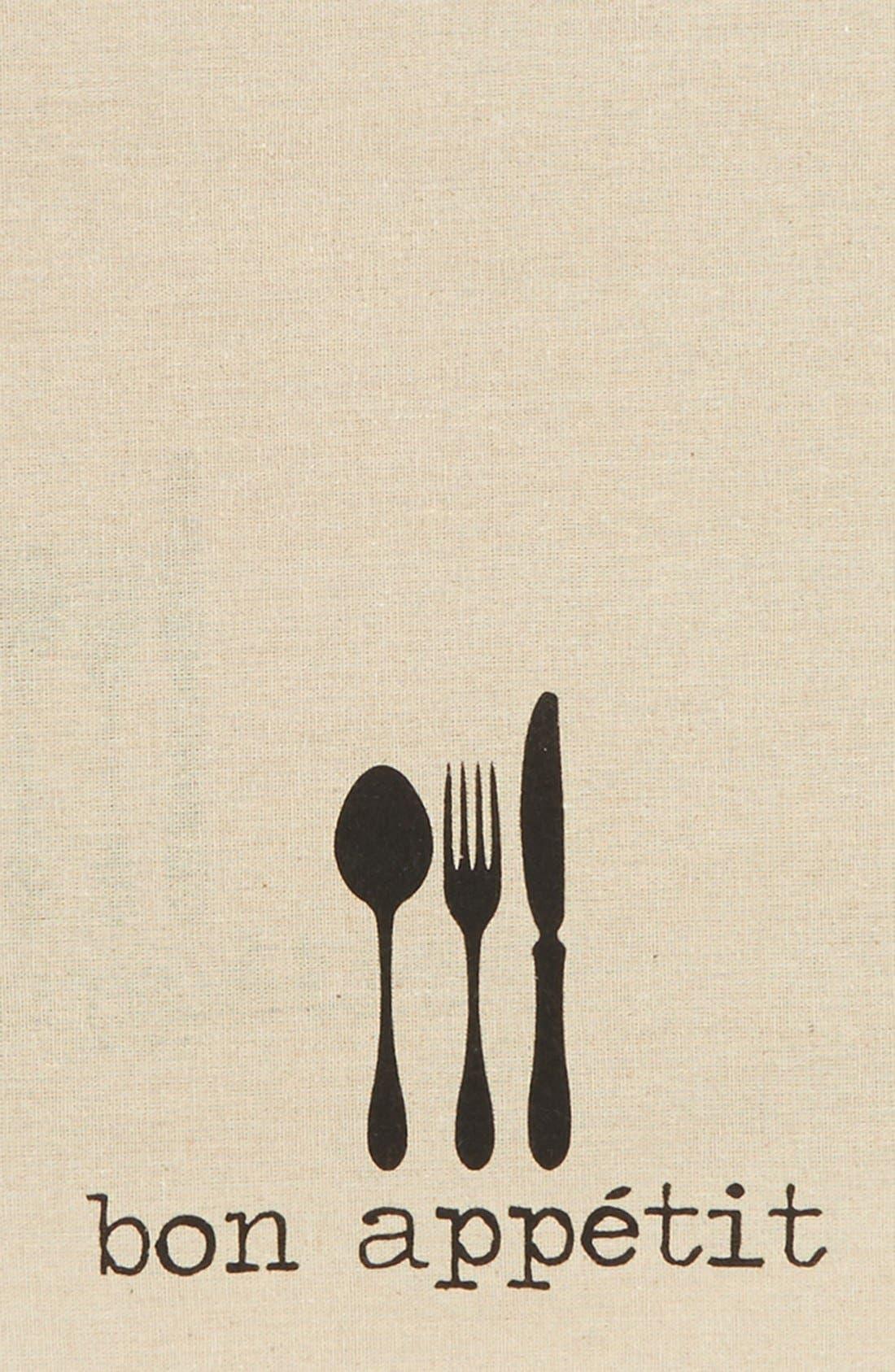 Alternate Image 2  - Levtex 'Bon Appétit' Burlap Placemats (Set of 2)