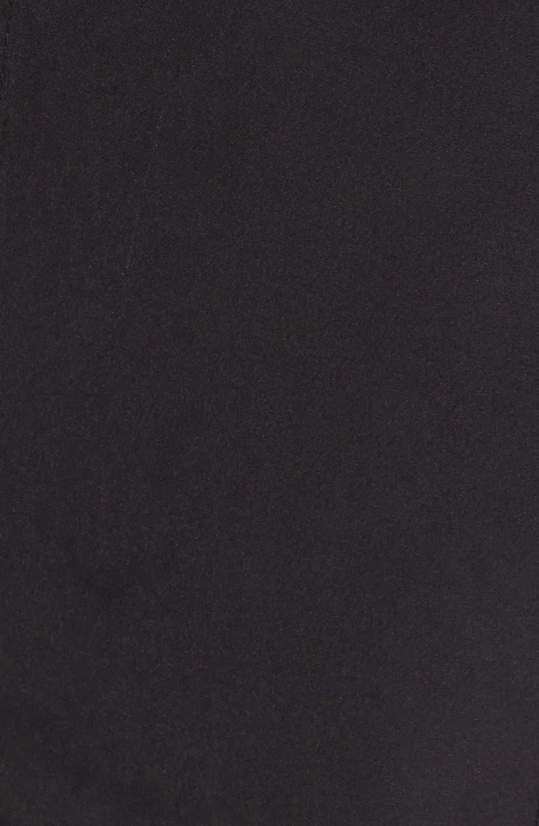 Alternate Image 5  - Halogen® Hooded Anorak with Faux Fur Trim (Regular & Petite)