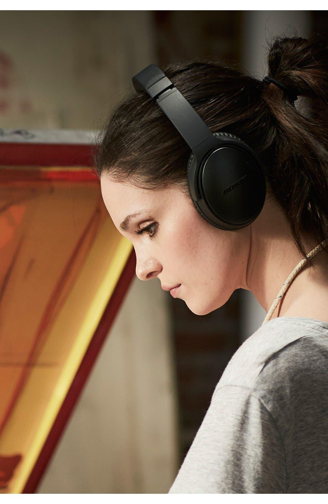 QuietComfort<sup>®</sup> 35 Acoustic Noise Cancelling<sup>®</sup> Bluetooth<sup>®</sup> Headphones,                             Alternate thumbnail 7, color,                             Black