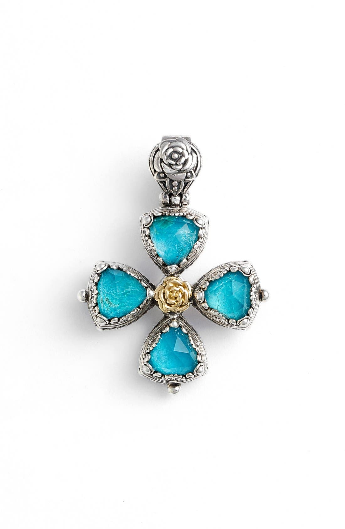 Alternate Image 1 Selected - Konstantino 'Iliada' Cross Pendant