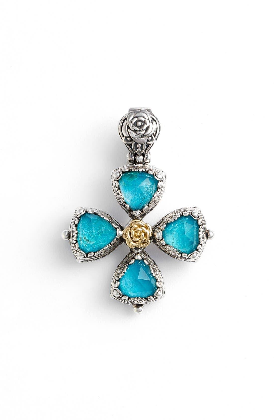 Konstantino 'Iliada' Cross Pendant