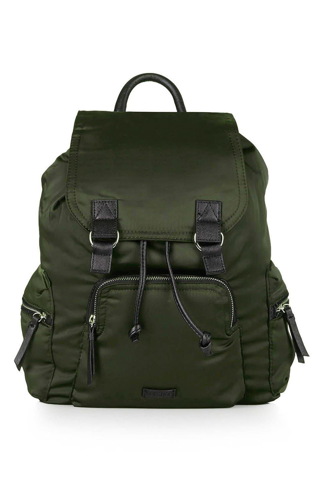 Alternate Image 1 Selected - Topshop Nylon Backpack