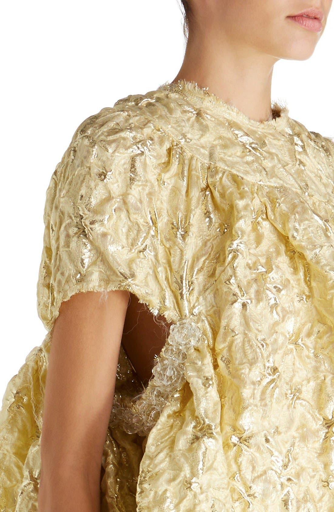 Alternate Image 6  - Simone Rocha 'Lava' Embellished Asymmetrical Trapeze Dress