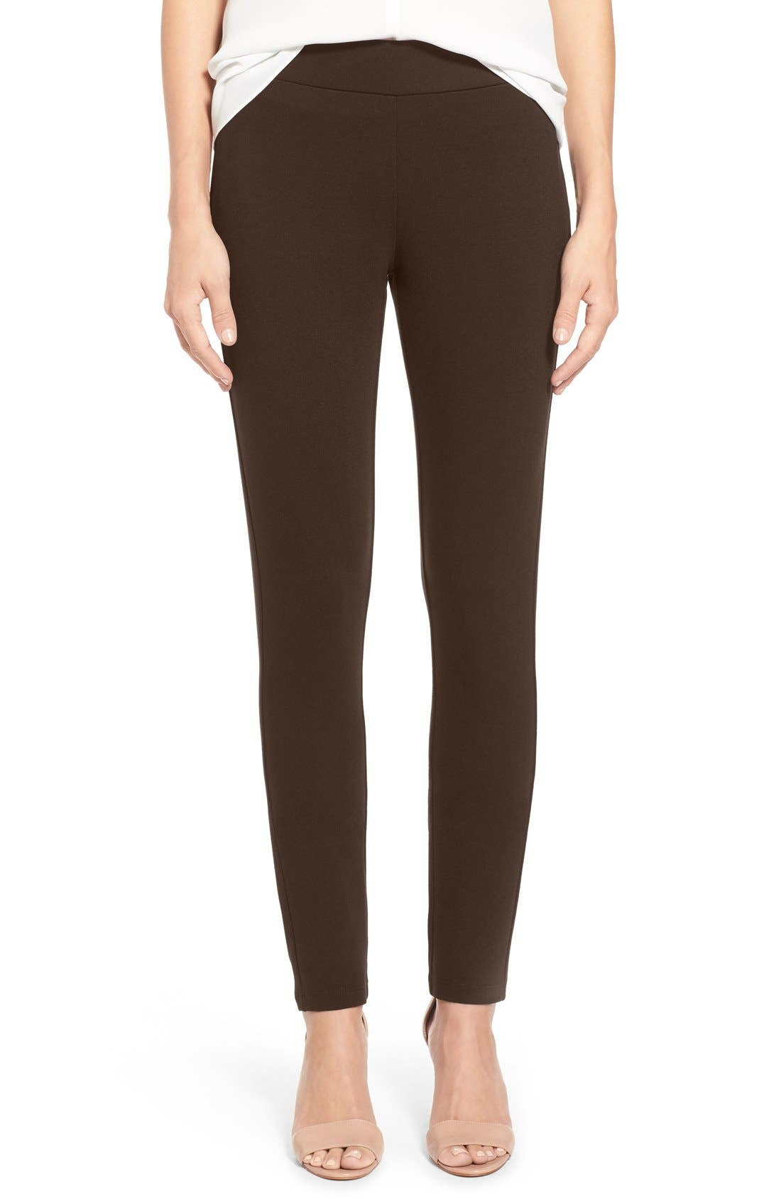 Alternate Image 1 Selected - NYDJ Stretch 'Jodie' Ponte Leggings (Regular & Petite)