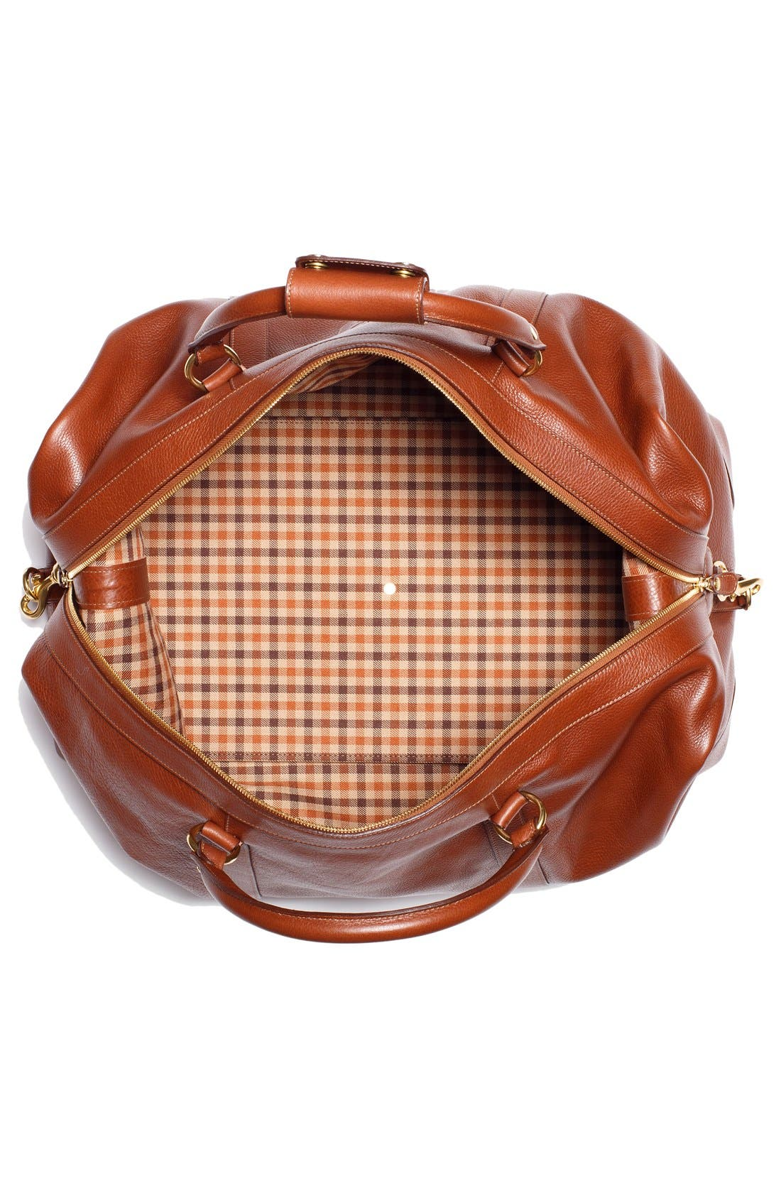 Alternate Image 3  - Ghurka Cavalier II Leather Duffel Bag