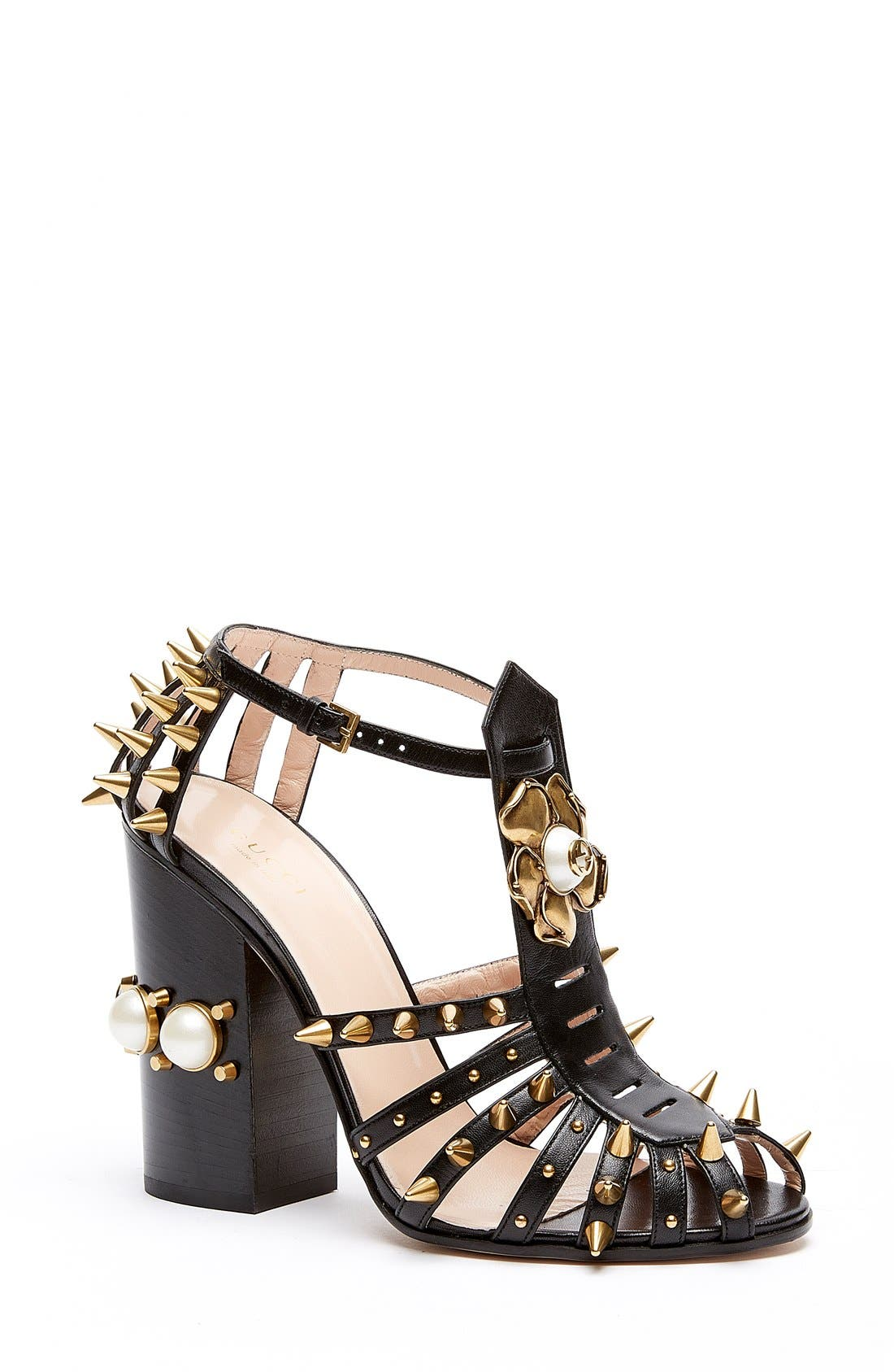 Gucci 'Kendall' Ankle Strap Pump (Women)