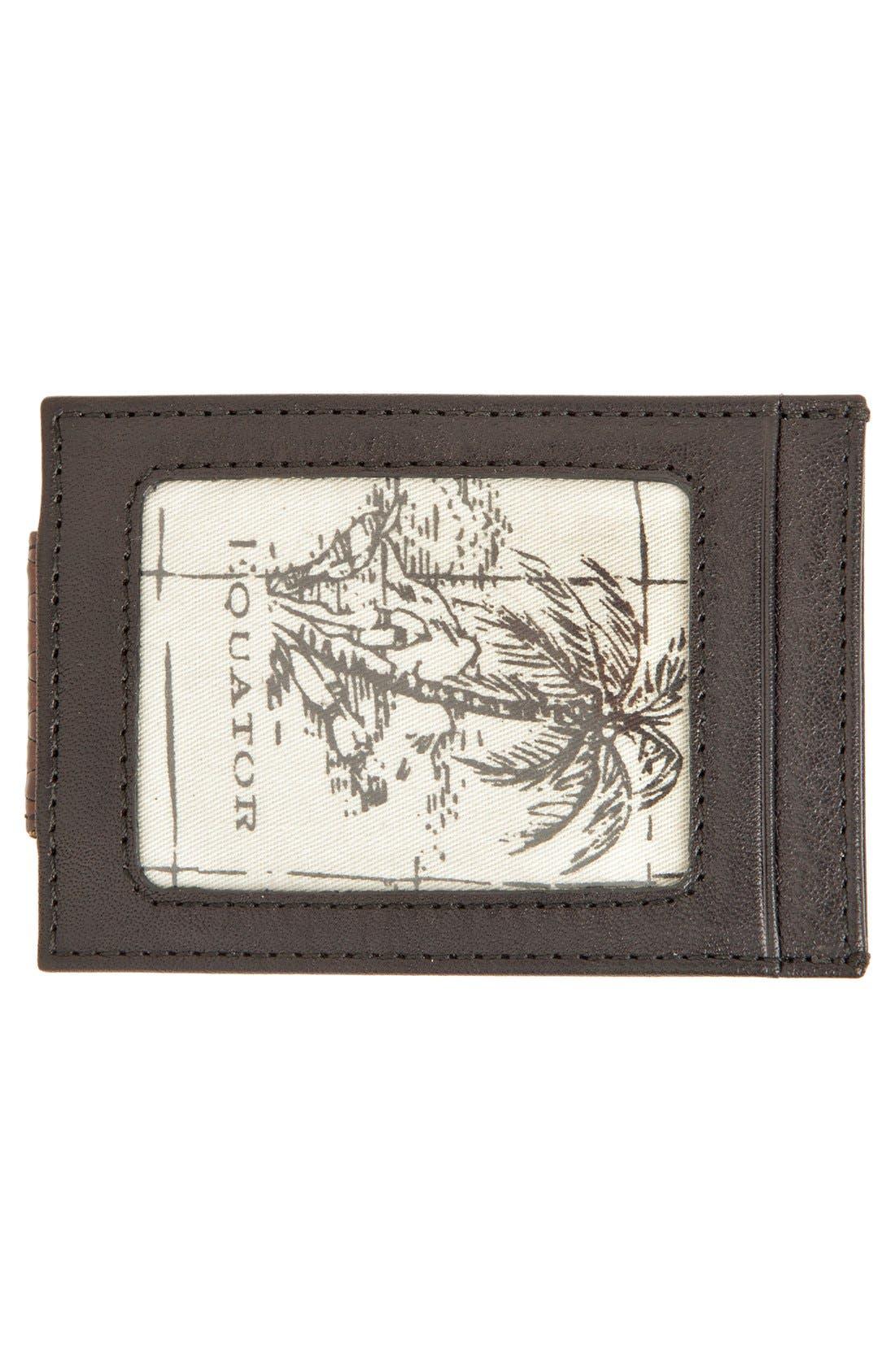 Alternate Image 2  - Tommy Bahama Money Clip Card Case