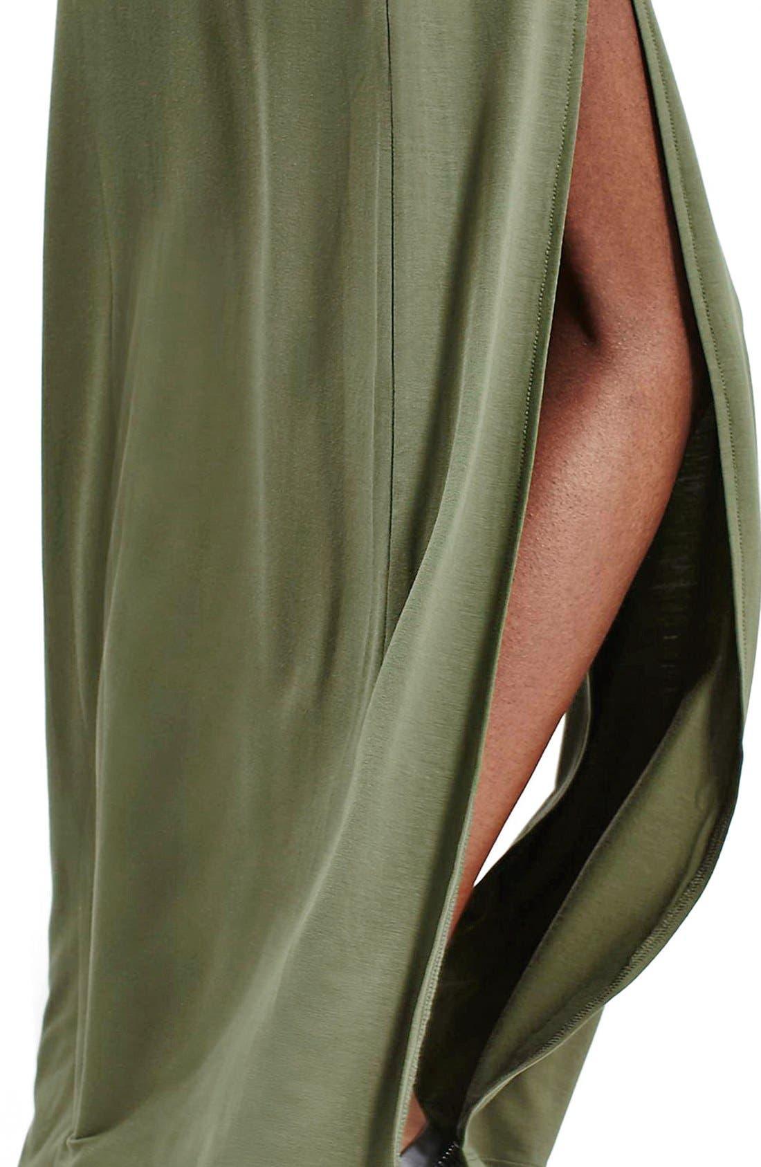 Alternate Image 5  - Topshop Double Slit Maxi Skirt