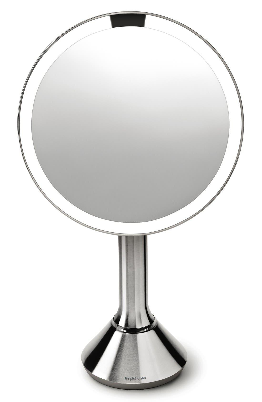 Alternate Image 3  - simplehuman Countertop Sensor Makeup Mirror (8 Inch)