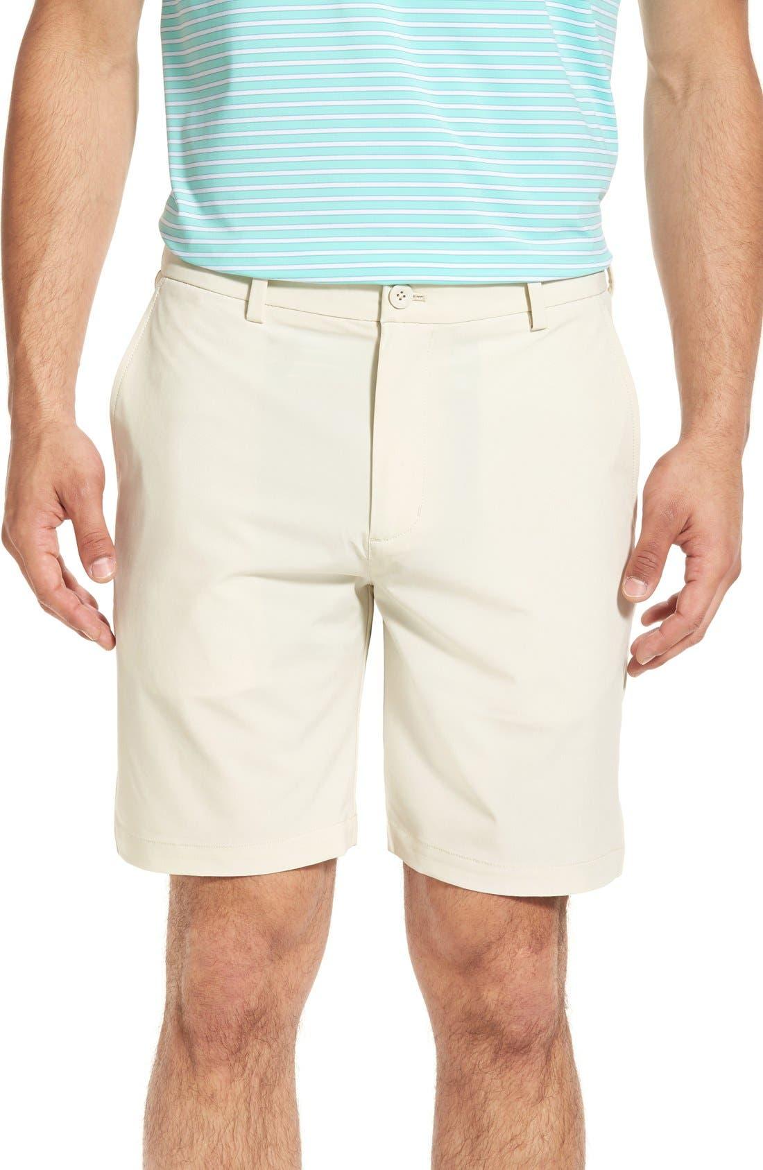 8 Inch Performance Breaker Shorts,                             Main thumbnail 1, color,                             Stone