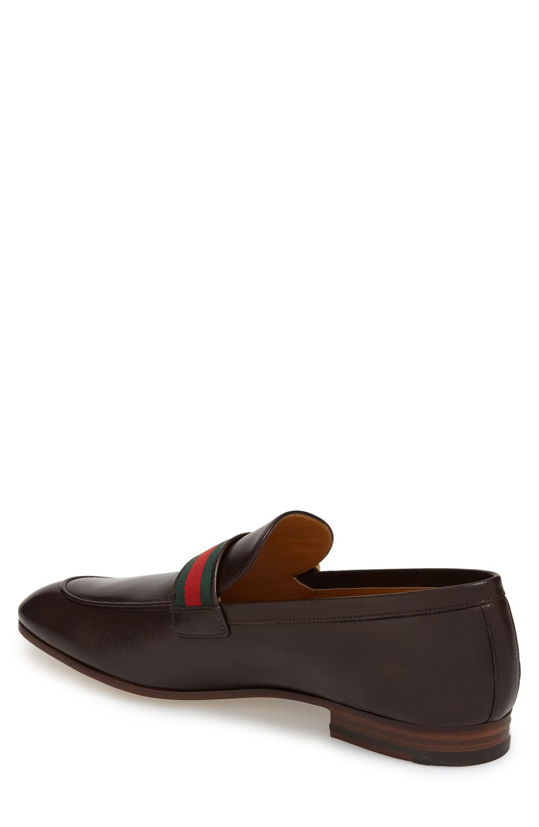 Donnie Bit Loafer,                             Alternate thumbnail 2, color,                             Cocoa Leather