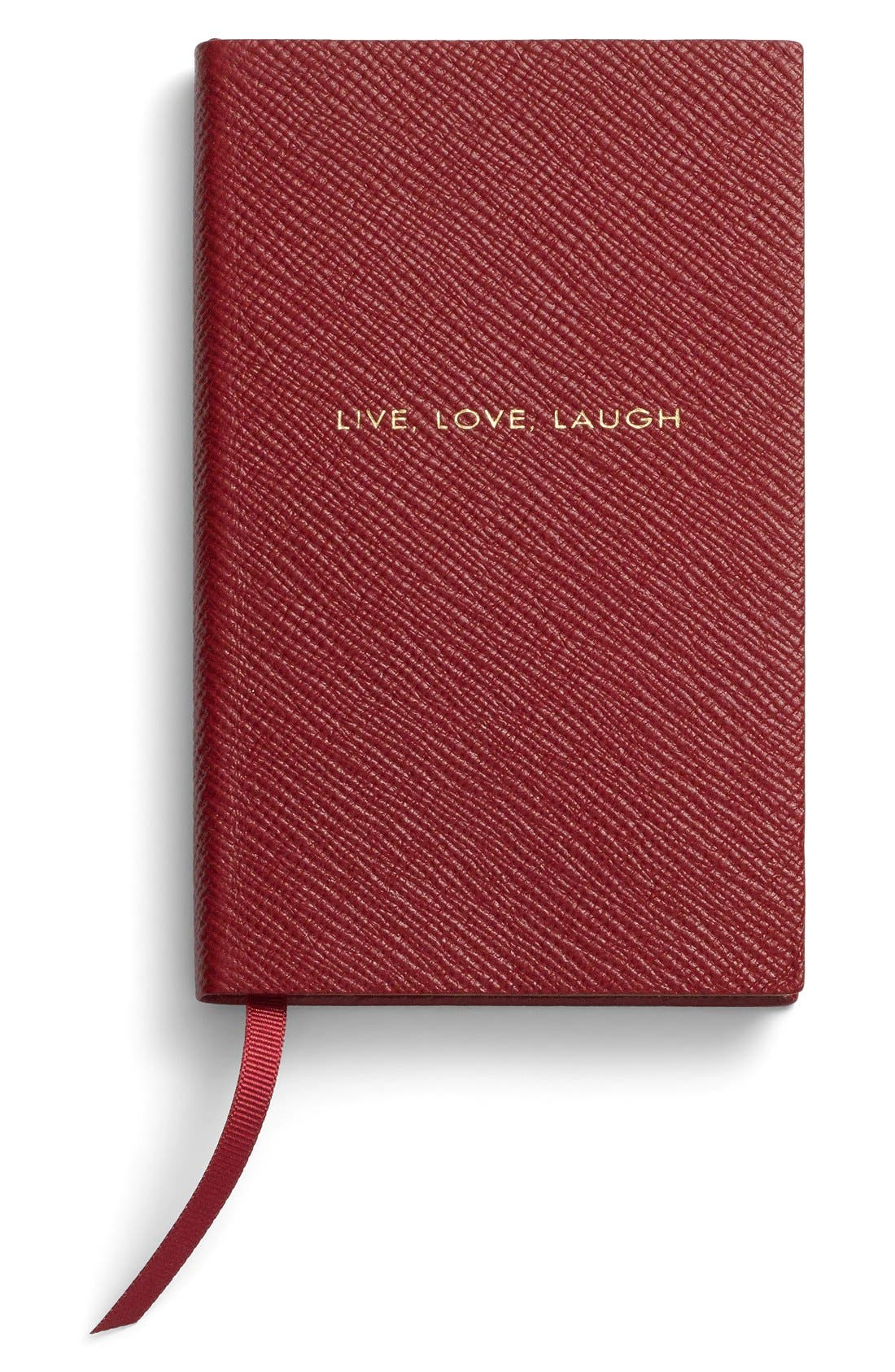 Smythson 'Live Love Laugh Panama' Pocket Notebook