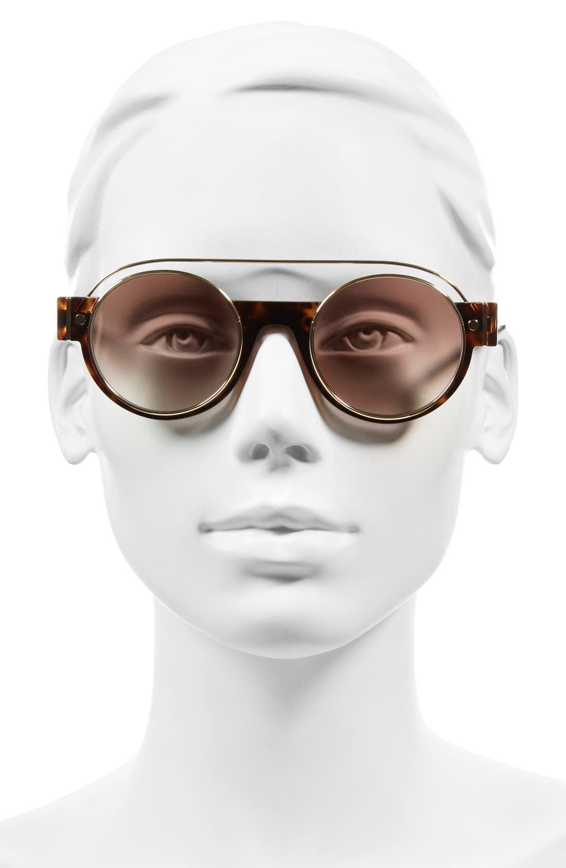 Alternate Image 2  - MARC JACOBS 49mm Round Sunglasses