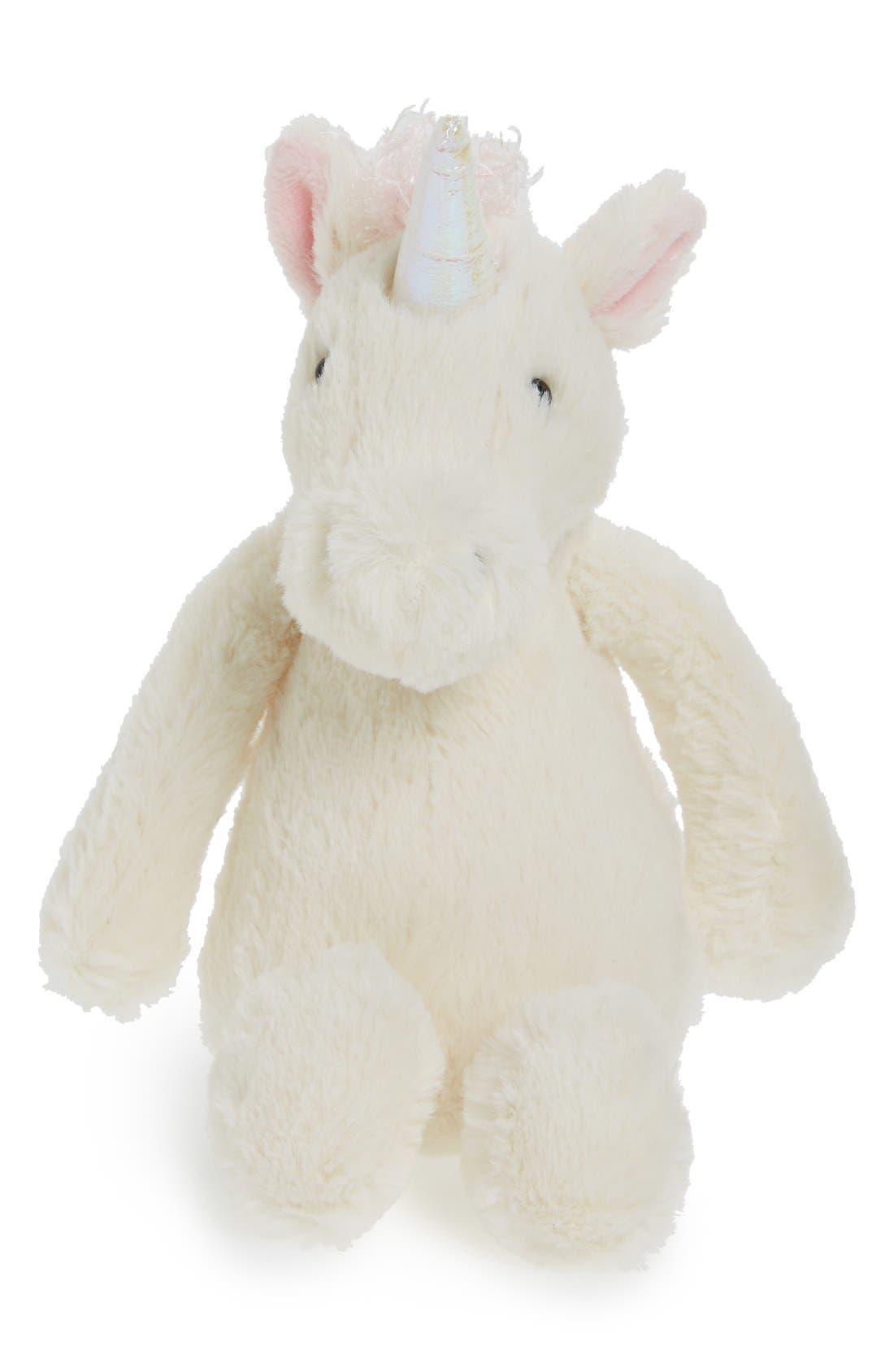 Jellycat 'Small Bashful Unicorn' Stuffed Animal