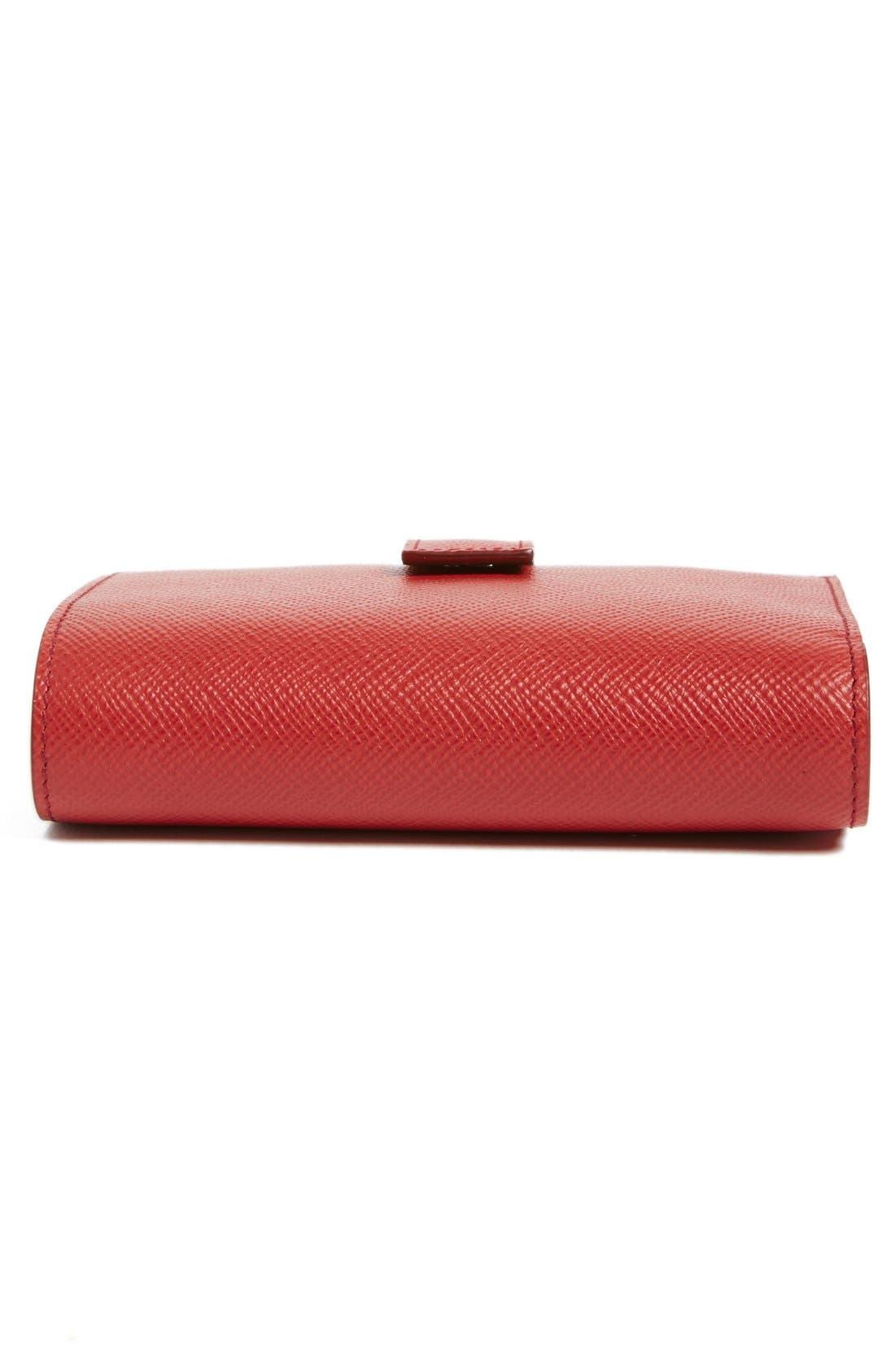 'Medium' Continental Wallet,                             Alternate thumbnail 6, color,                             Red