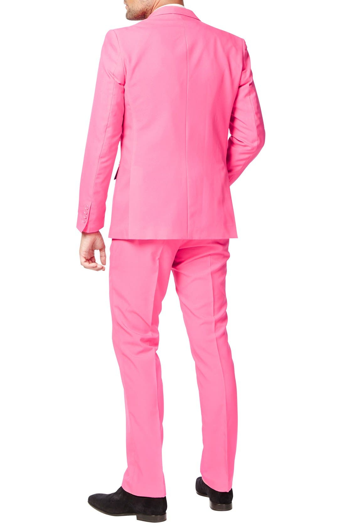 Alternate Image 2  - OppoSuits 'Mr. Pink' Trim Fit Two-Piece Suit with Tie